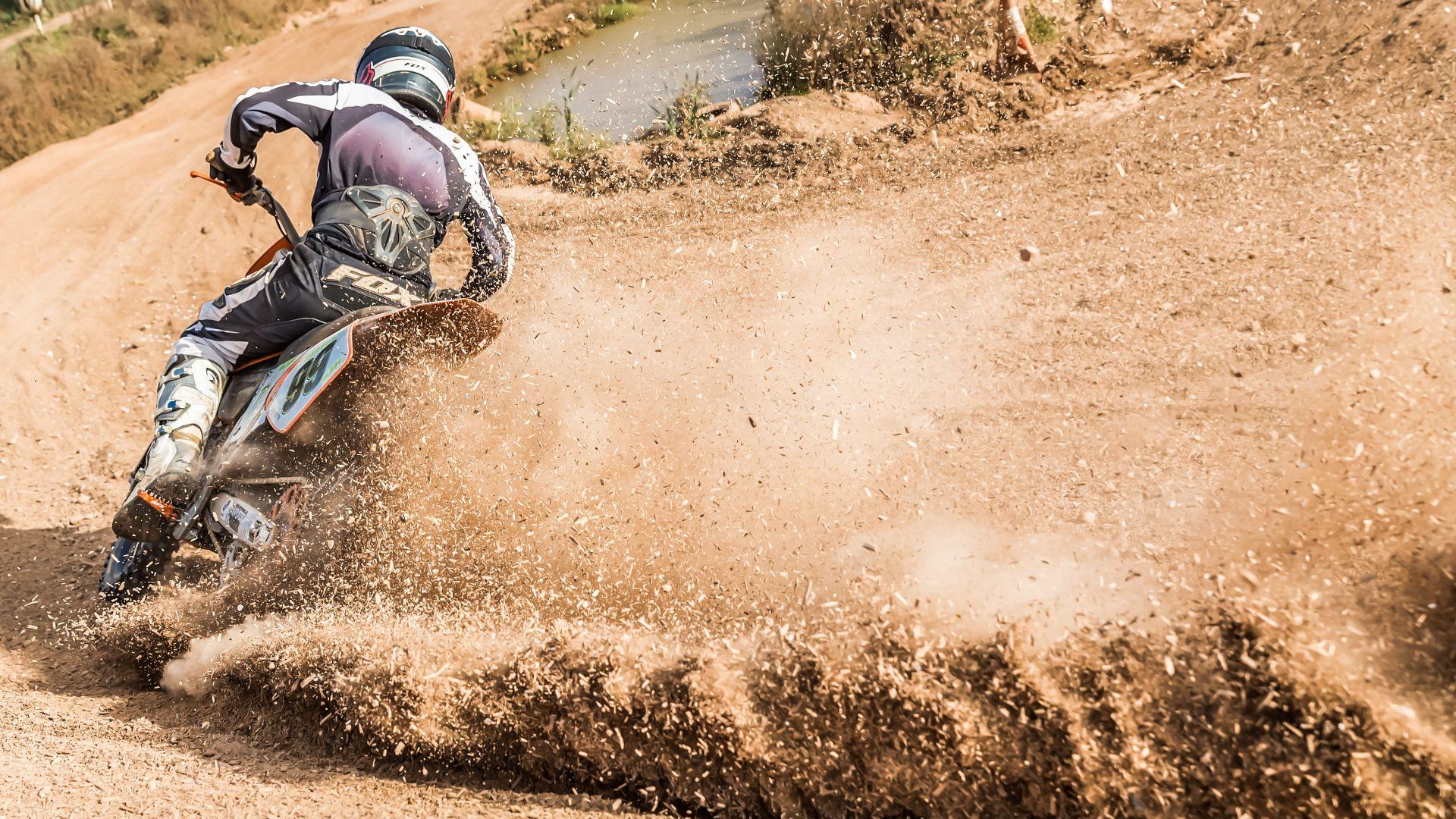 Wallpaper Bike race, motocross, race, bike