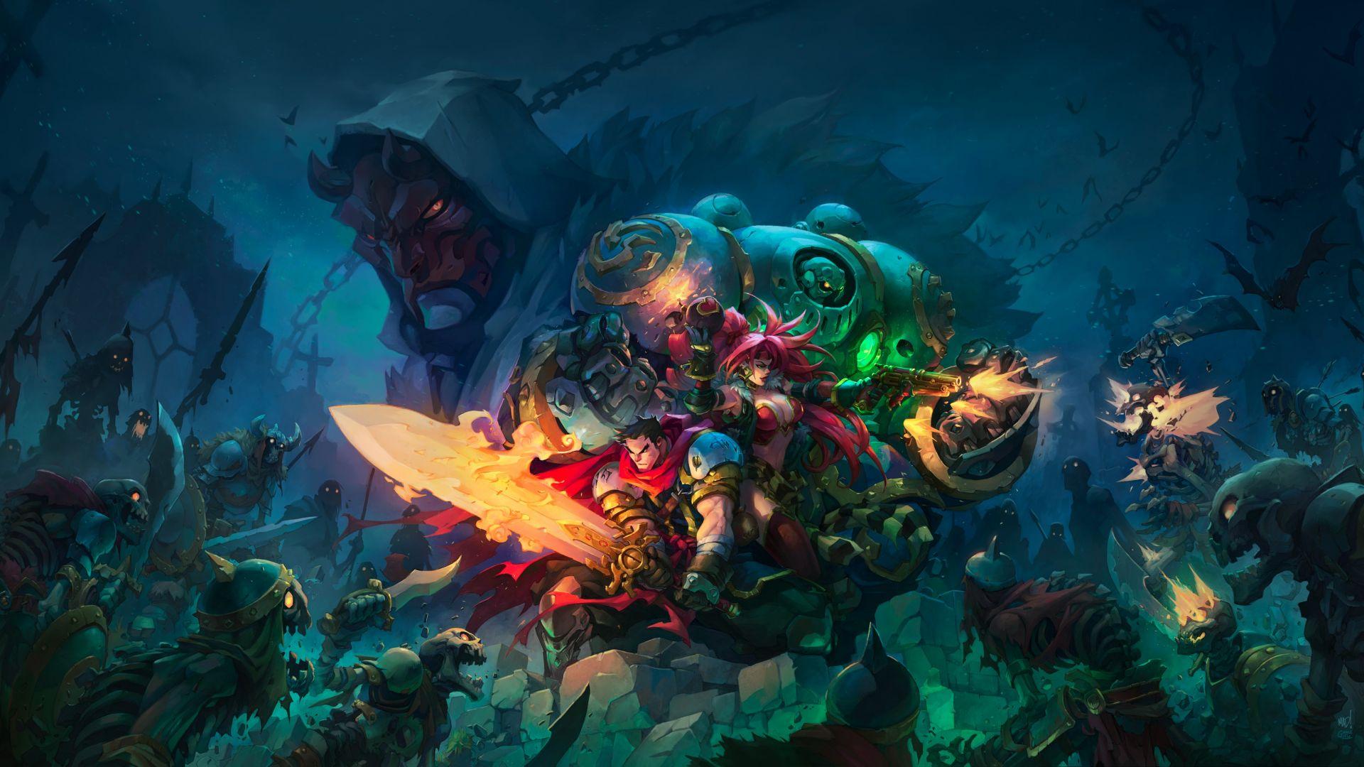 Battle Chasers: Nightwar, 4k