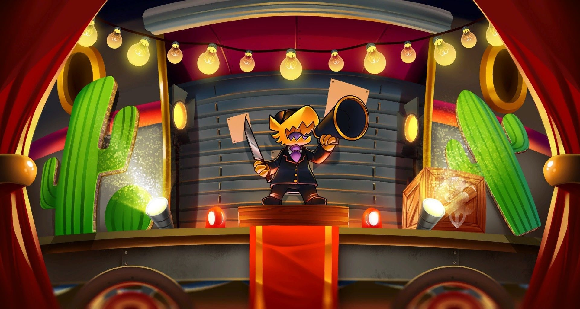 Wallpaper A hat in time, announcement