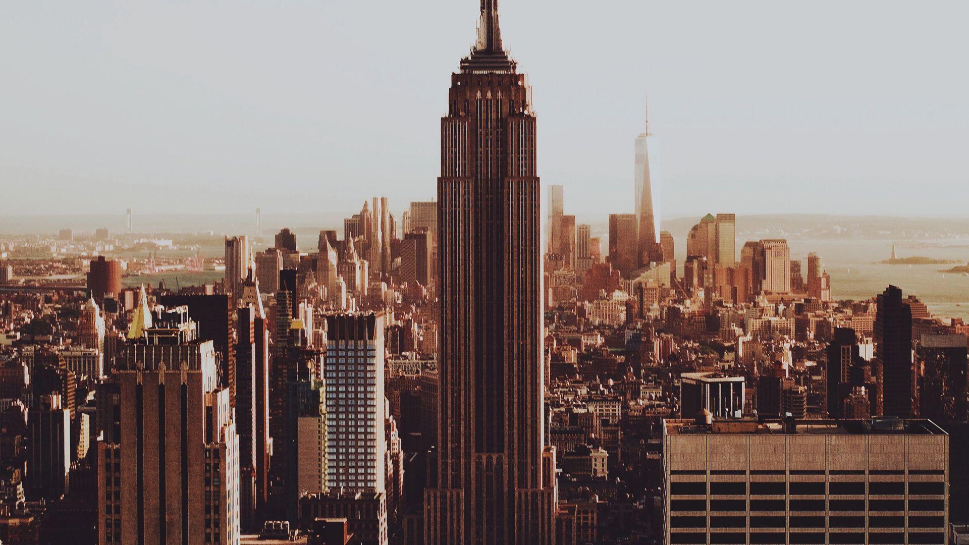 Desktop Wallpaper Buildings Empire State Building City New York