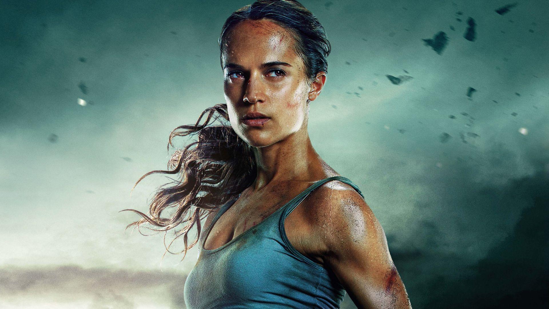 Wallpaper Alicia vikander, lara croft, tomb raider, movie 2018