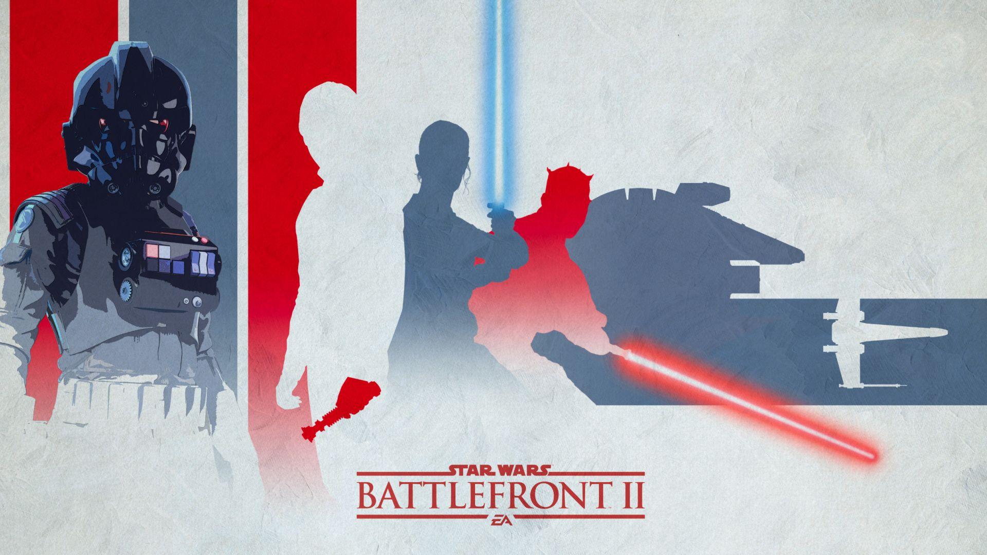 Desktop Wallpaper Star Wars Battlefront 2 Light Darth Vader Artwork Hd Image Picture Background Fd492f