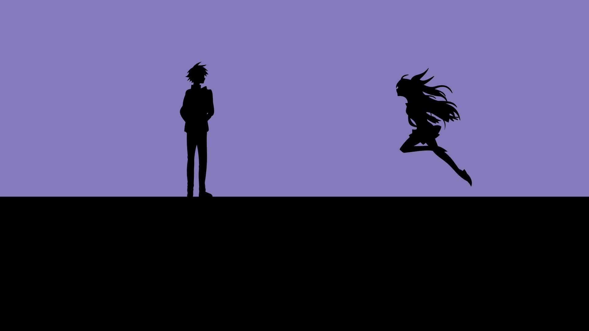 Chitoge kirisaki, Raku Ichijō, Nisekoipedia, minimal, anime