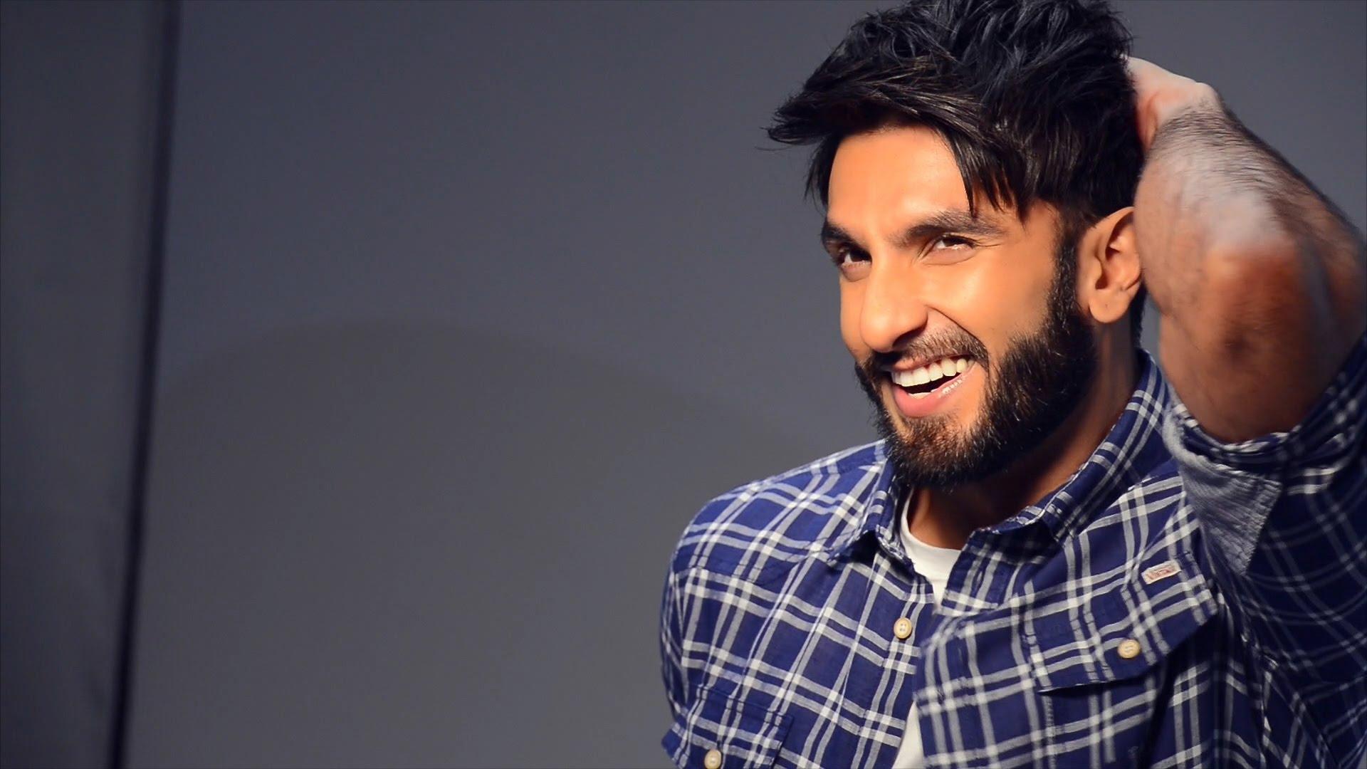 Desktop Wallpaper Handsome Actor Ranveer Singh Hd Image Picture
