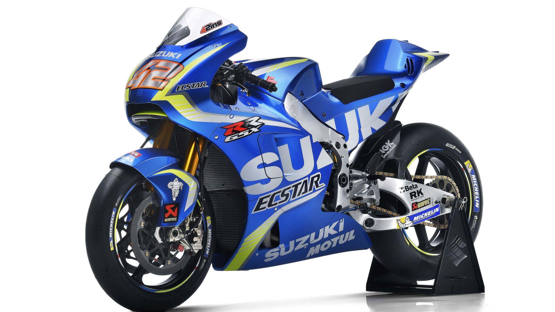 Wallpaper 2017 Team Suzuki Ecstar, motogp, bike
