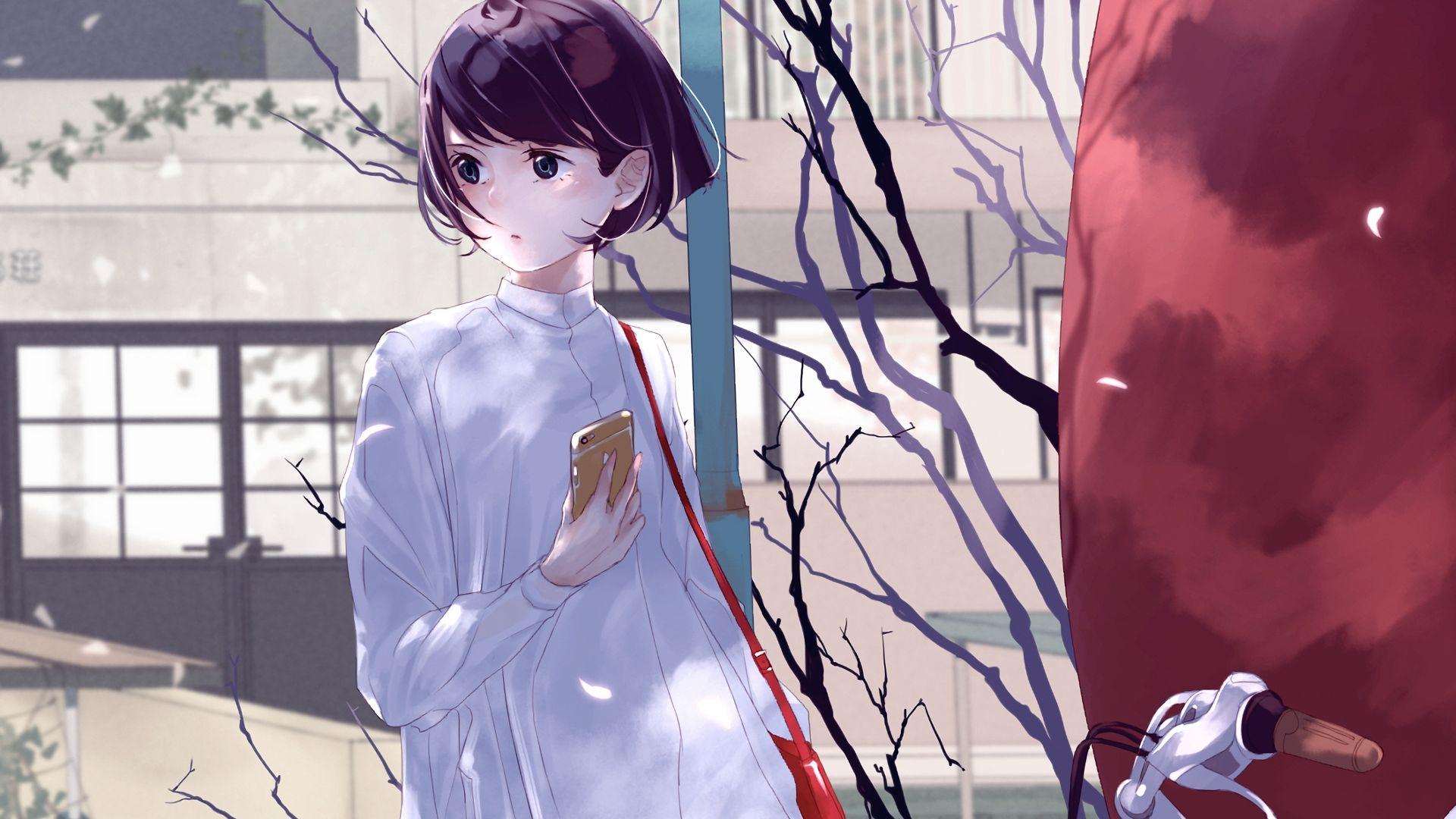 Cute Anime Girl Wallpaper Phone Hd Anime Wallpapers