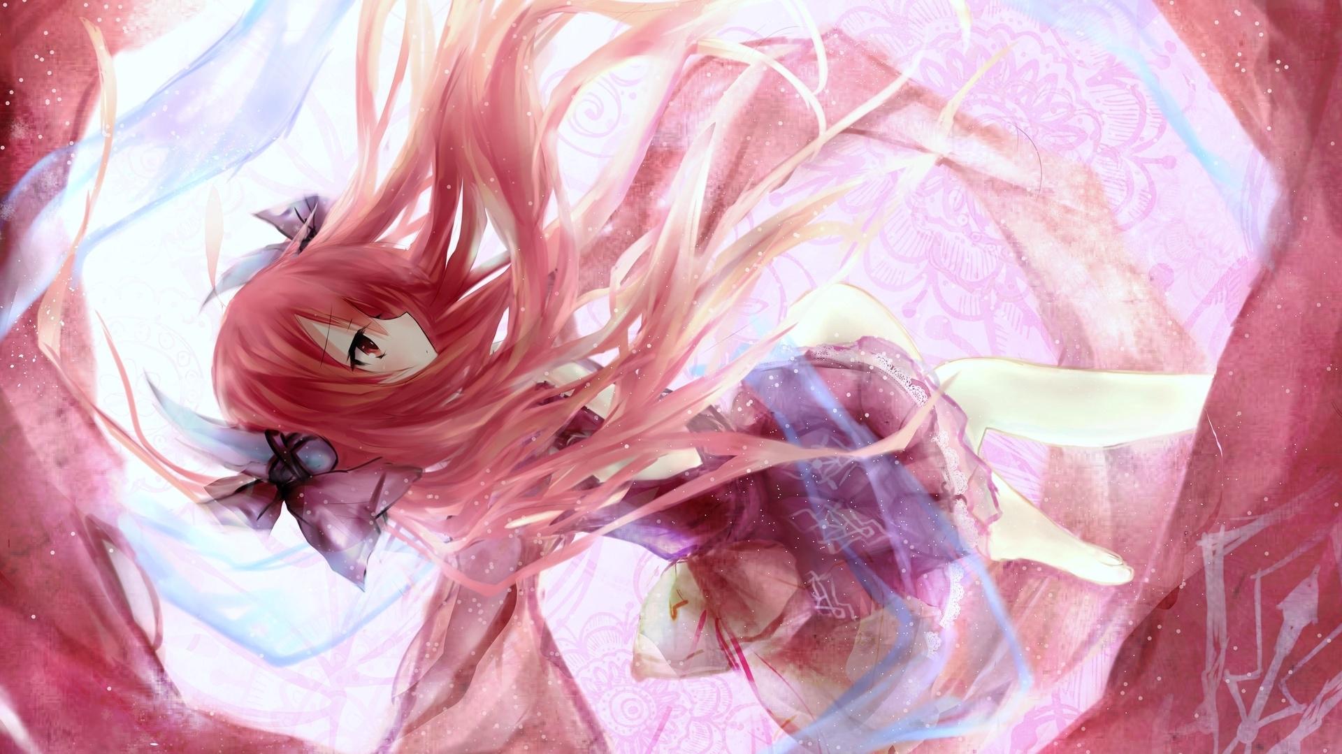 Wallpaper Kotori Itsuka, Date A Live, long hair anime girl