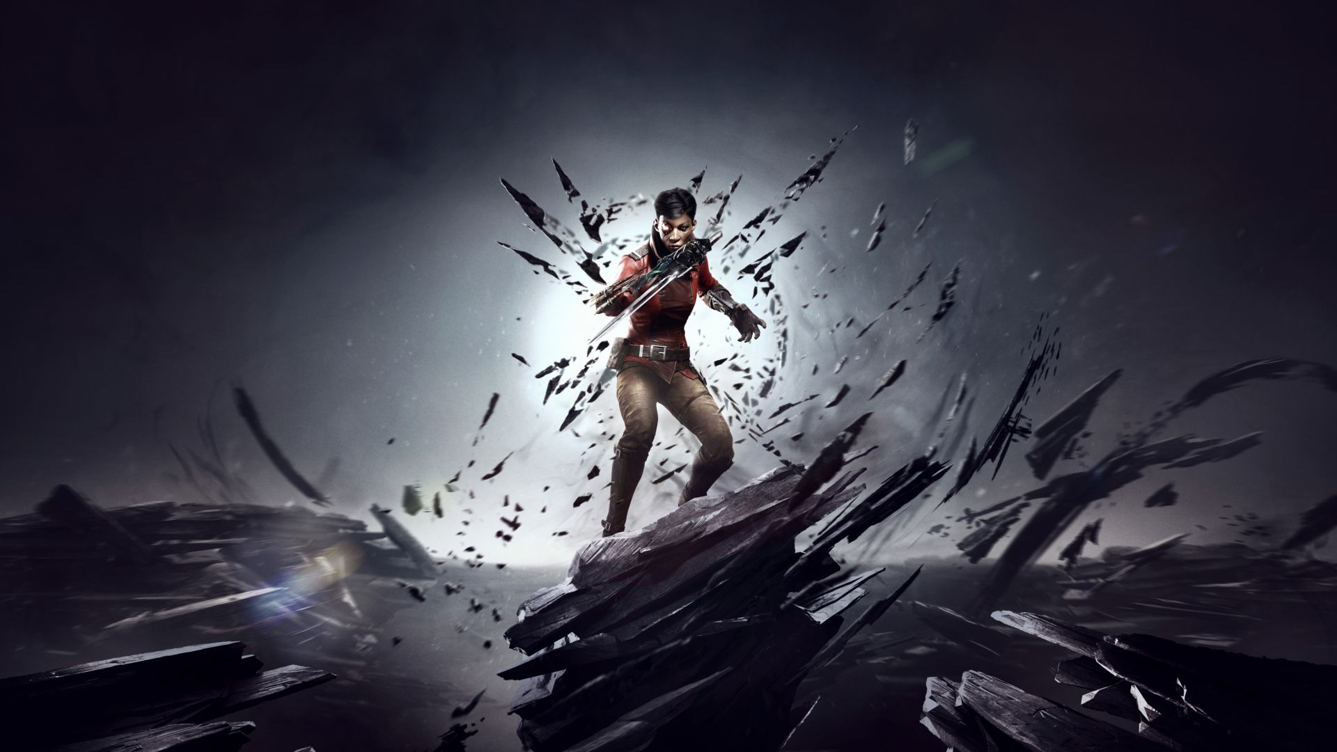 Wallpaper Dishonored: Death Of The Outsider, 2017 game, video game