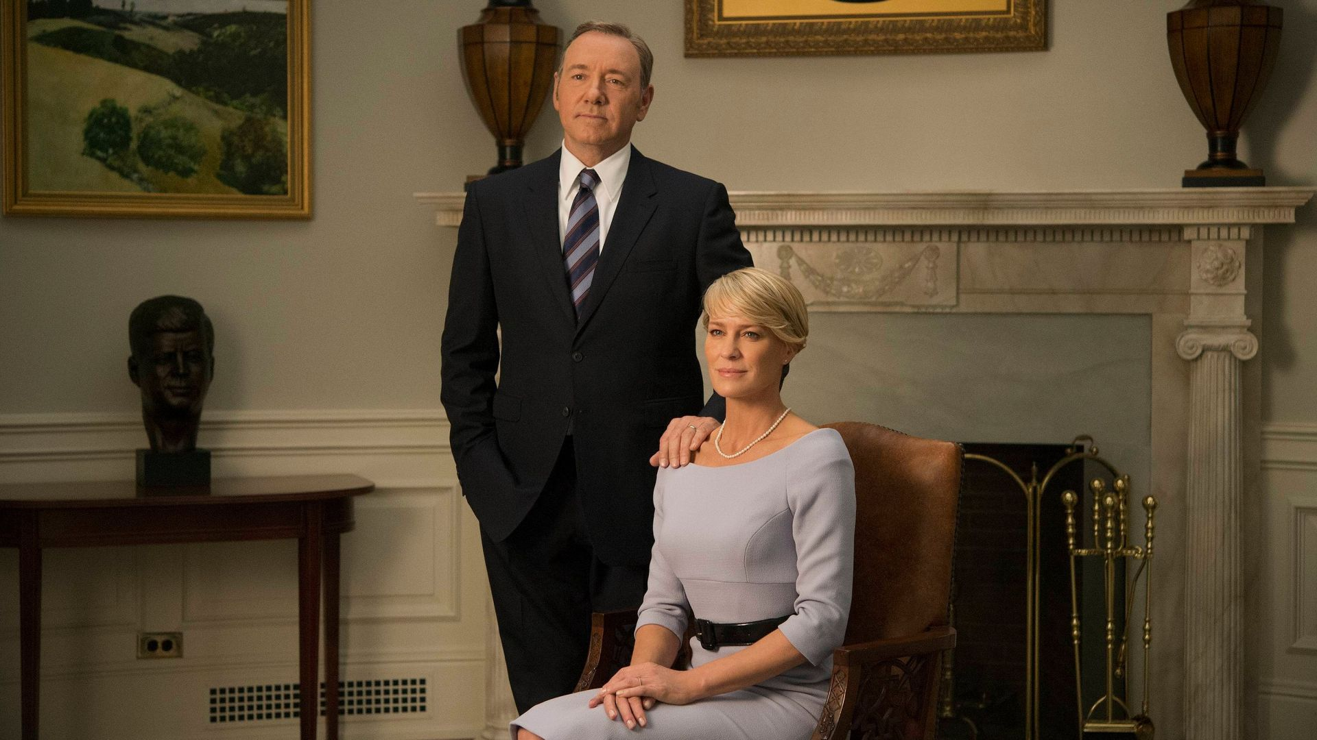Wallpaper House of cards, TV series, couple