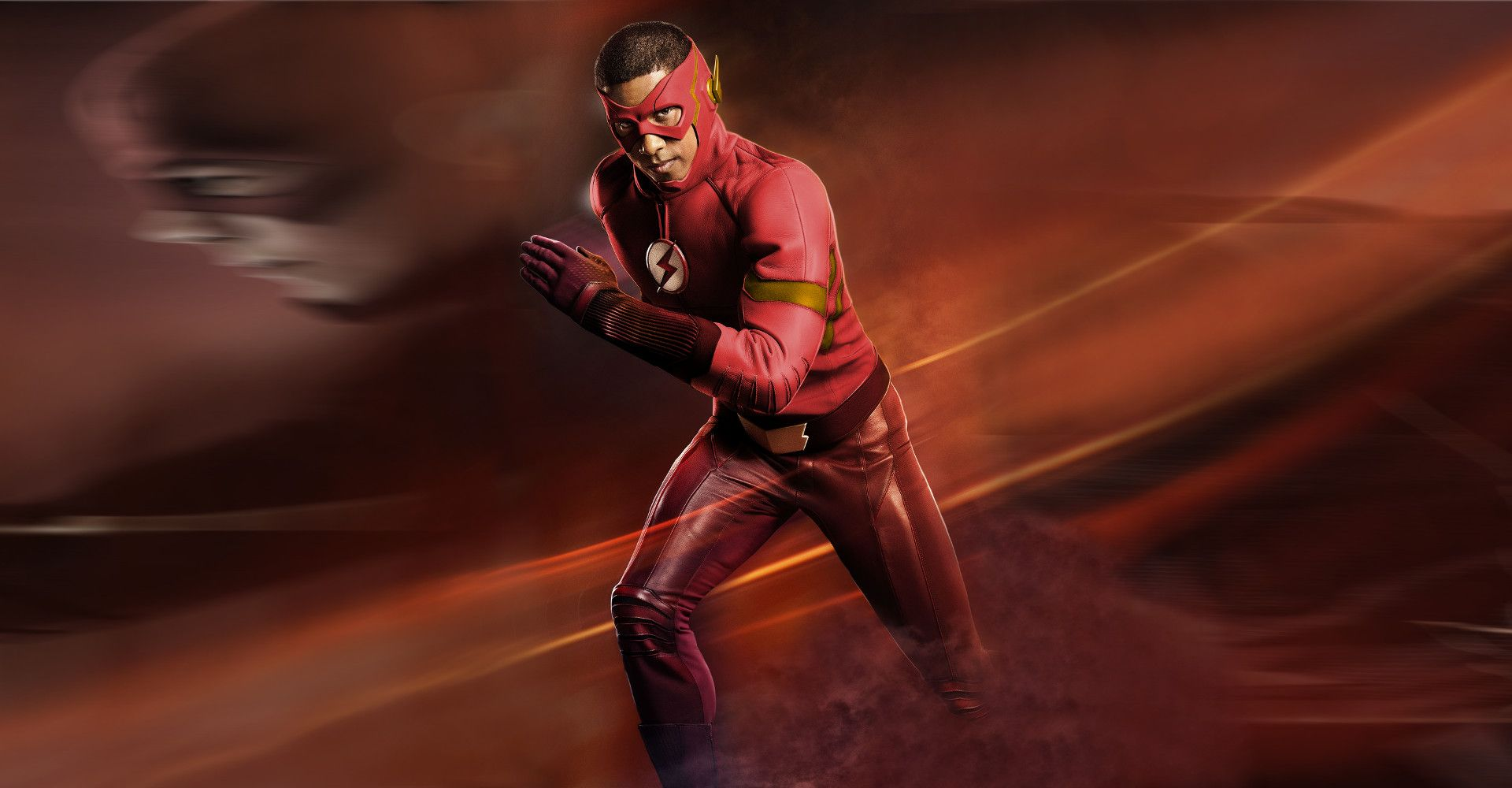 Desktop Wallpaper Wally West As The Flash, Red Suit, Tv Show