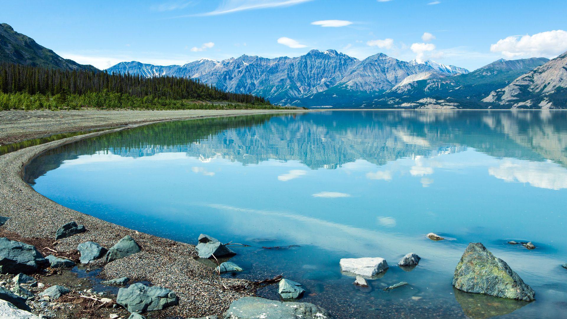 Wallpaper Yukon Canada