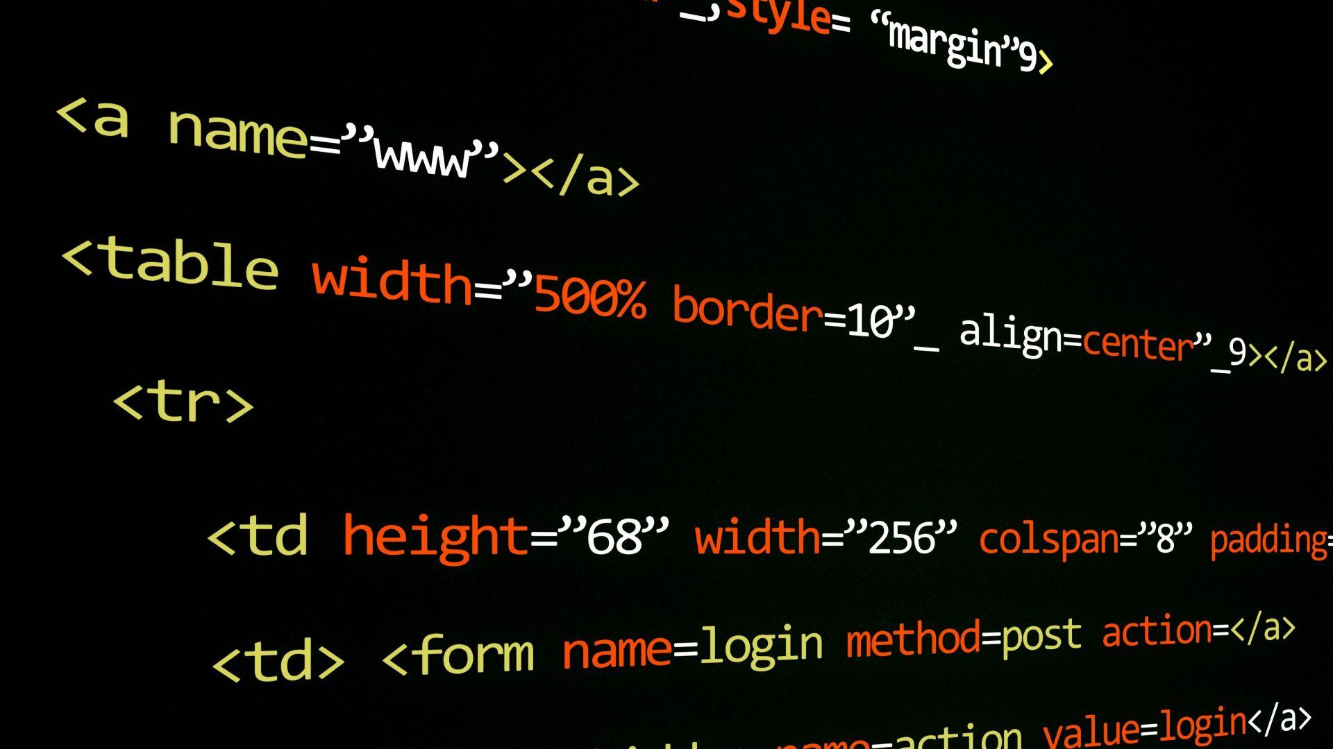 Wallpaper For web developers coding, programming syntax wallpaper