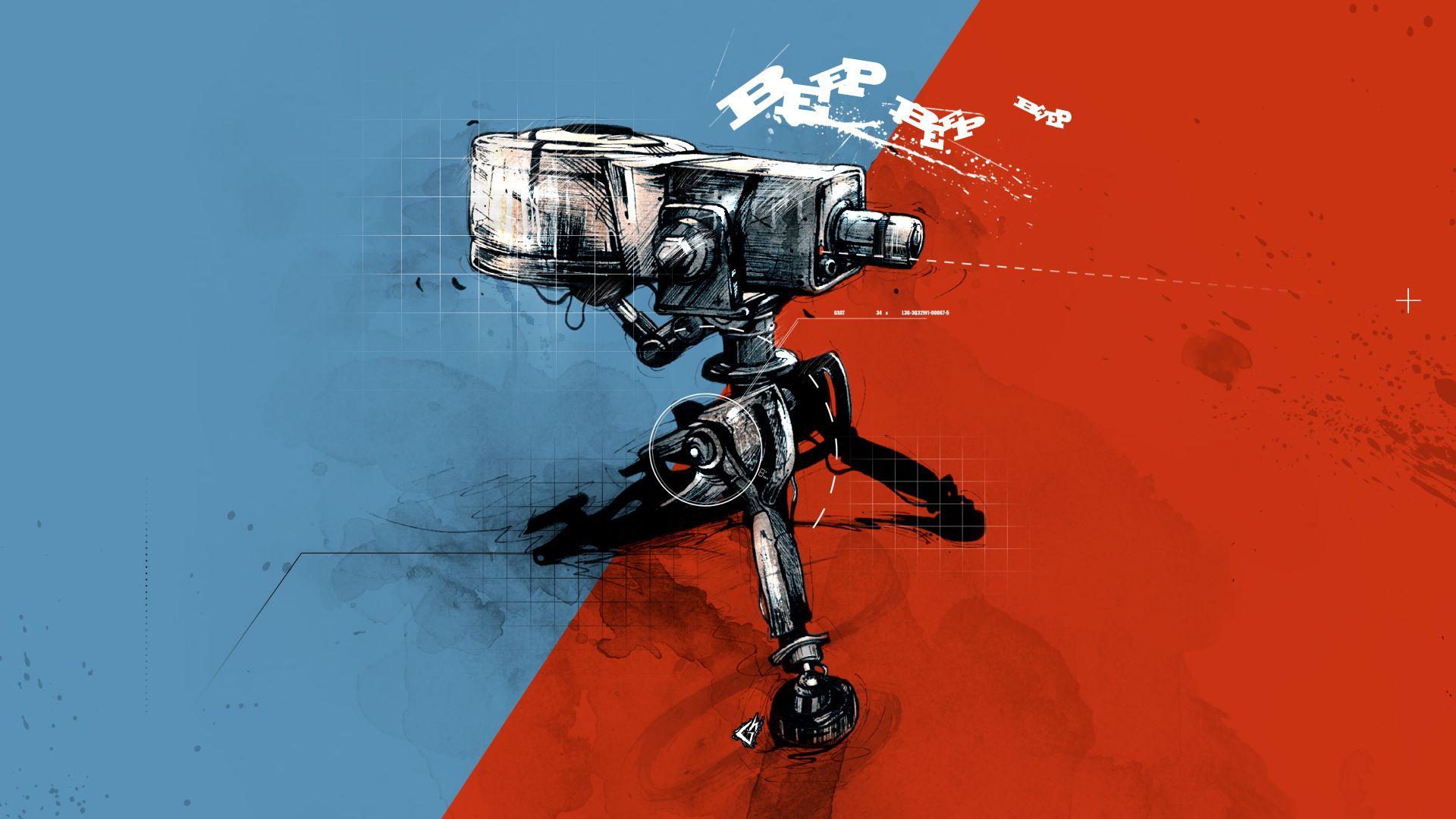 Wallpaper Team fortress 2 video game, robot