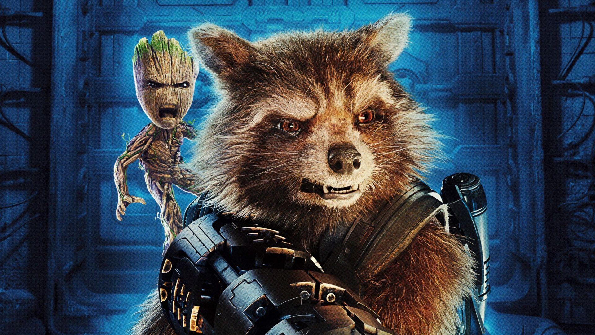 Desktop Wallpaper Baby Groot Guardians Of The Galaxy Vol 2 Movie