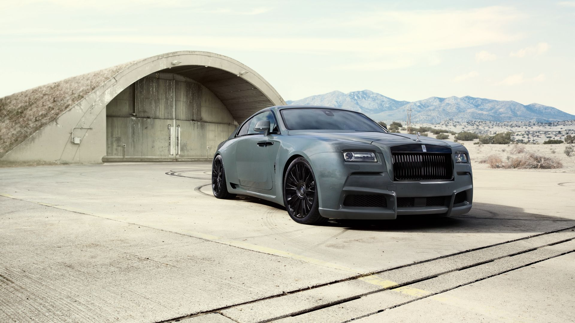 Wallpaper Luxury car, Rolls-Royce wraith car, side view