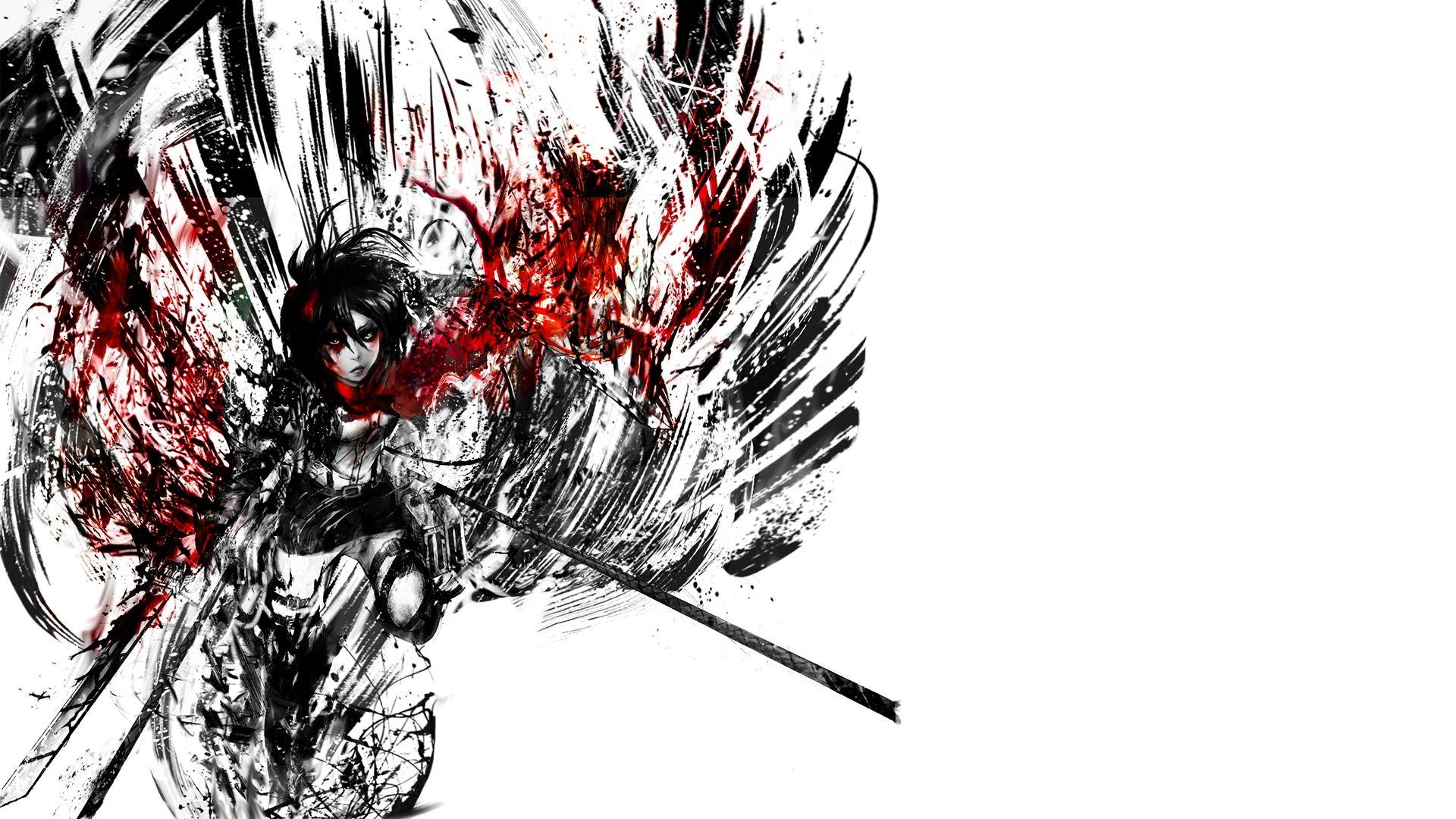 Anime Attack On Titan Mikasa Wallpaper Anime Wallpapers