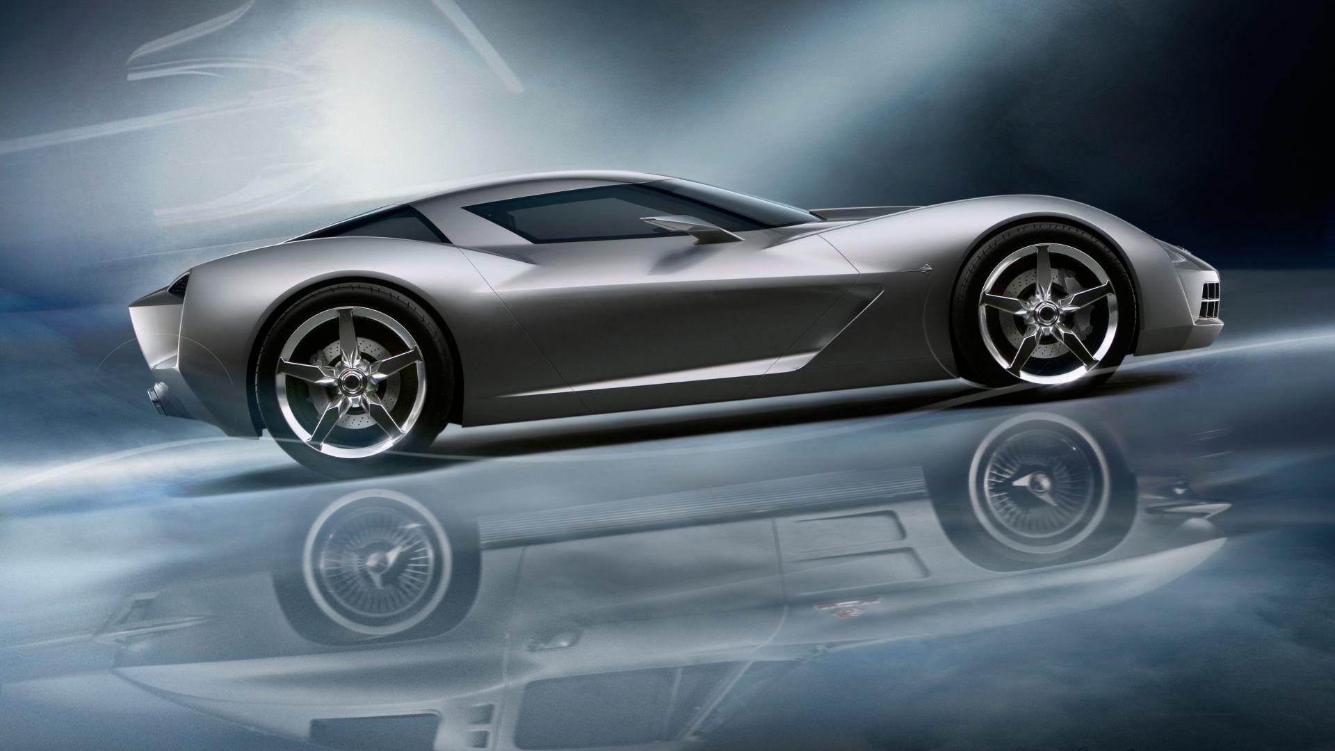 Wallpaper Chevrolet Corvette Stingray, concept cars