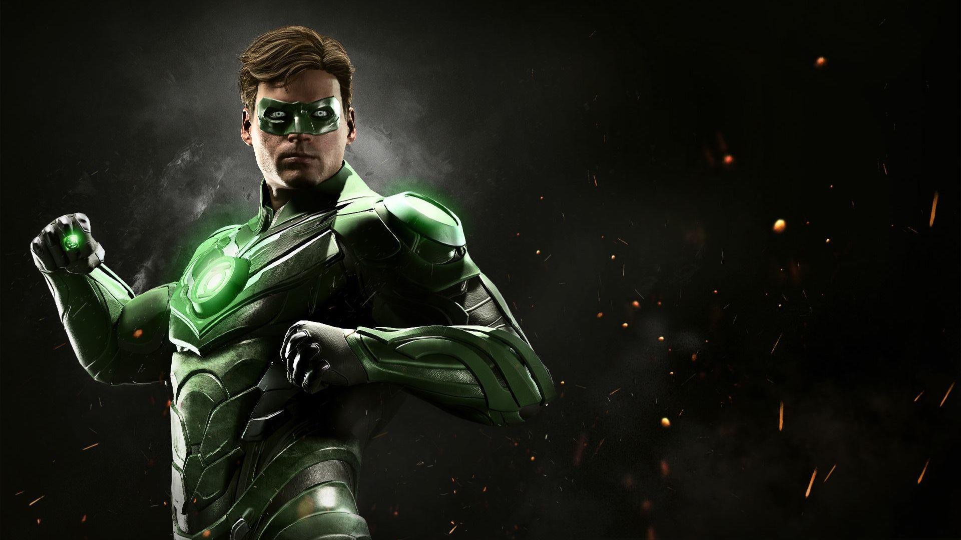 Green Lantern Comic Wallpaper