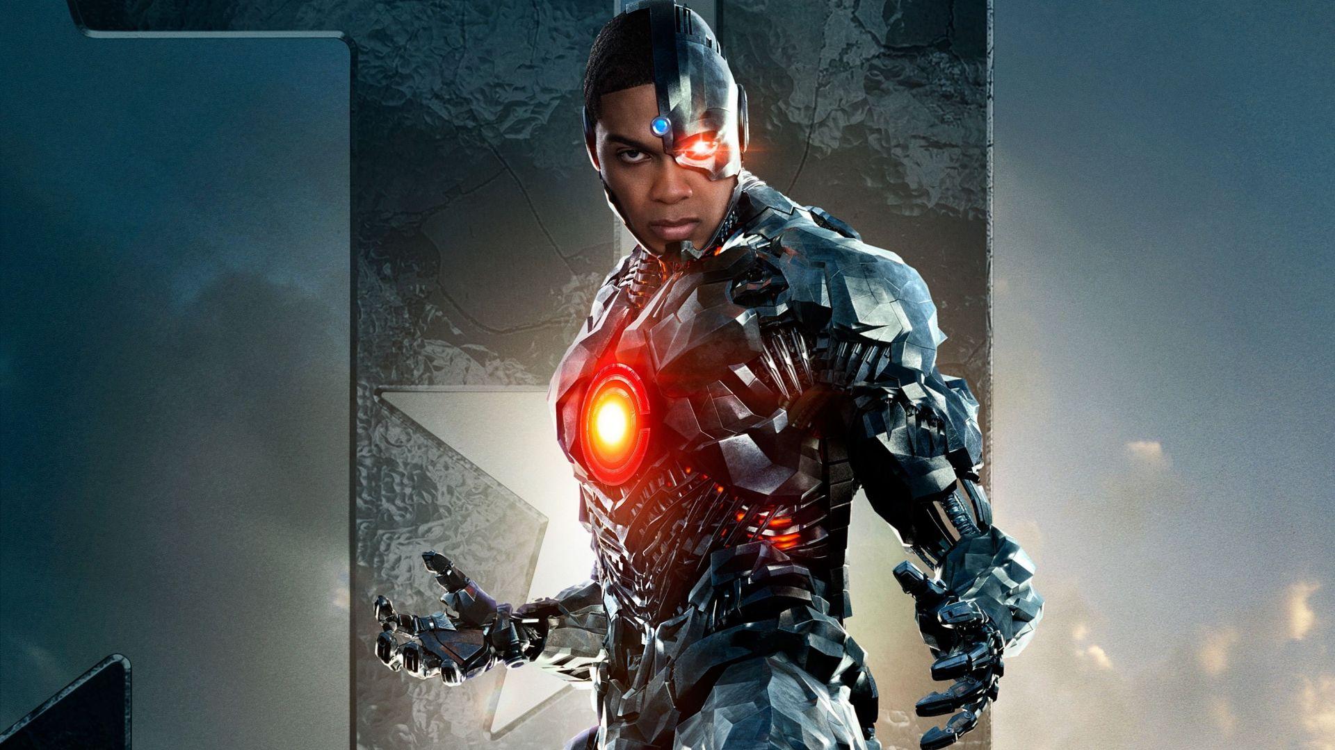 Wallpaper Cyborg, Justice League, 2017 movie, Ray Fisher, superhero