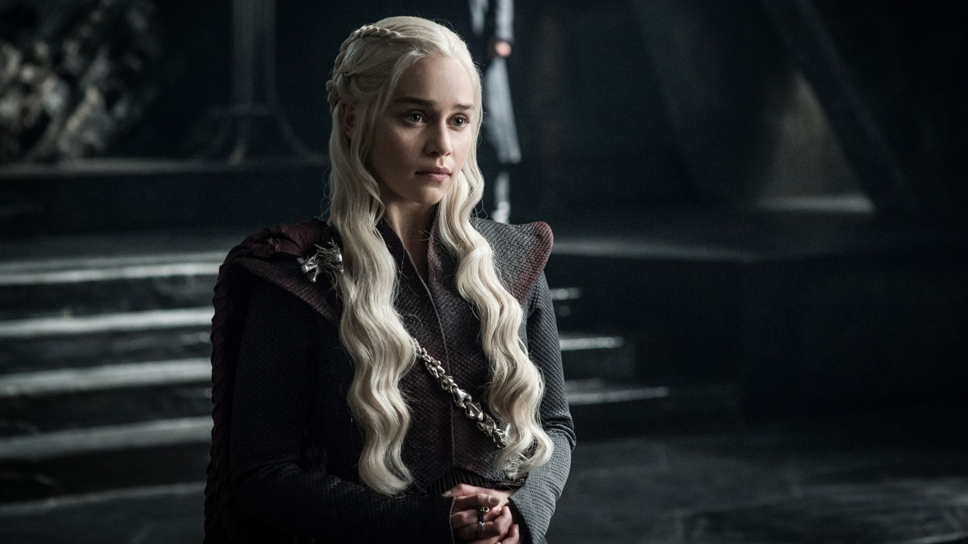 Wallpaper Daenerys Targaryen, Emilia Clarke, game of thrones, TV show