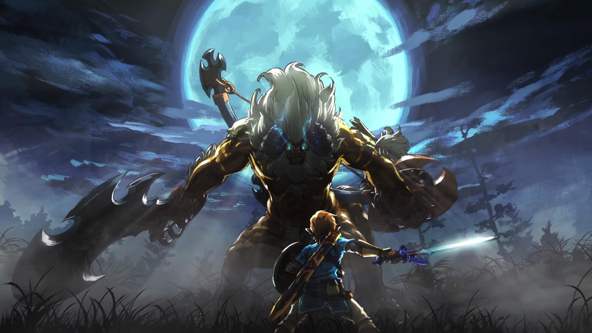 Zelda Breath Of The Wild Wallpaper 1080p: Desktop Wallpaper The Legend Of Zelda: Breath Of The Wild