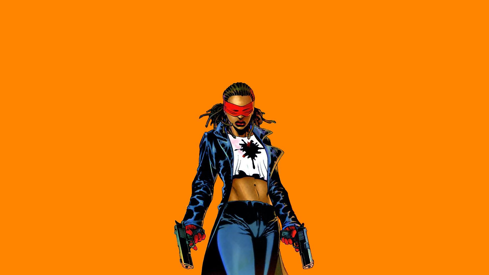 Wallpaper Crimson avenger, dc comics