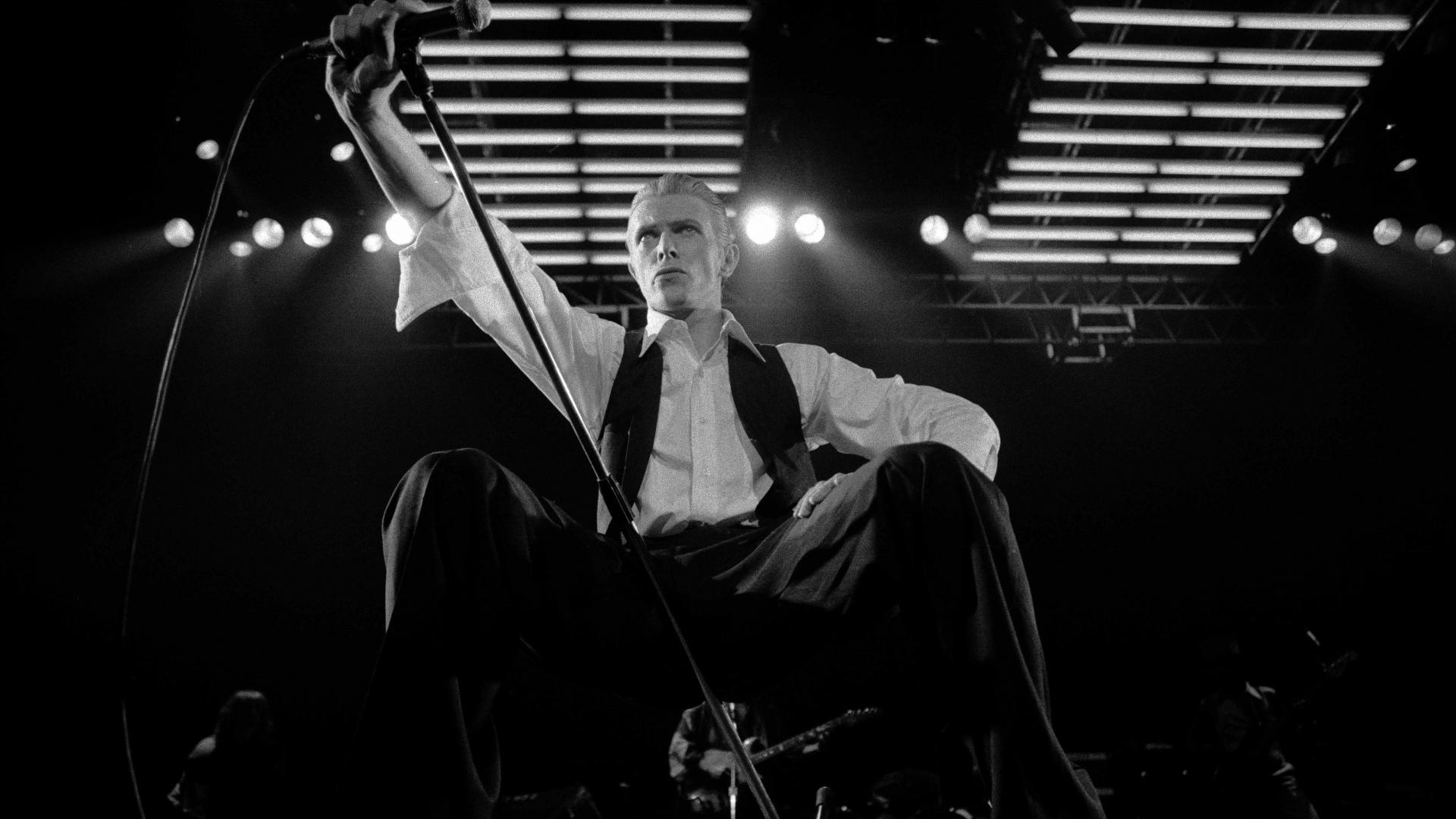 Wallpaper David Bowie, musician, monochrome