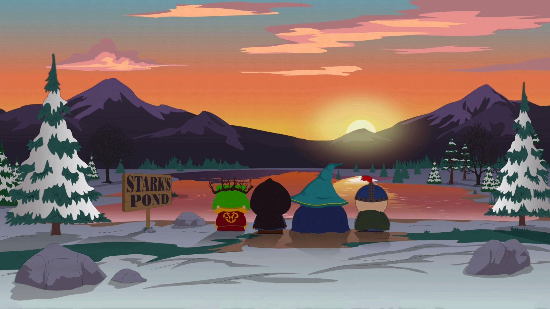 Wallpaper South park: the stick of truth cartoon