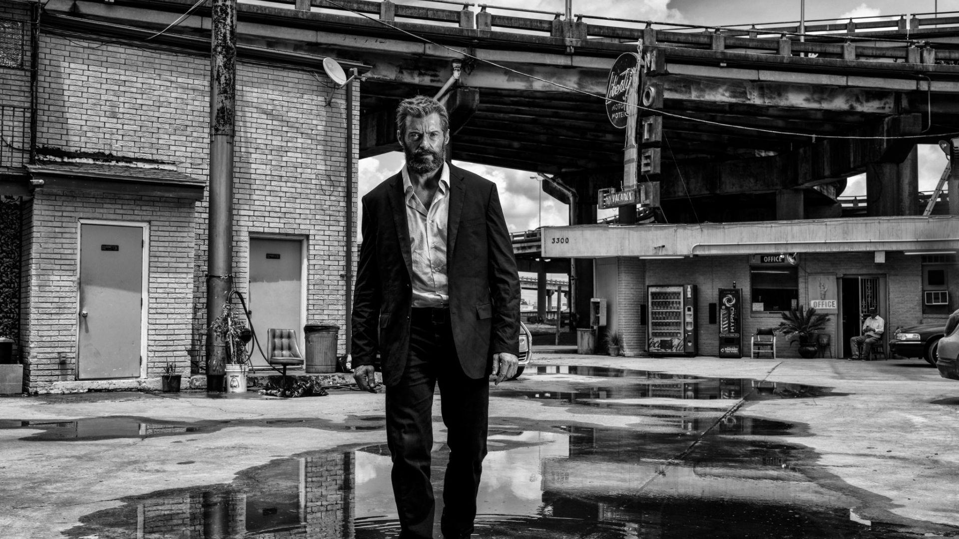 Wallpaper Logan 2017 hugh jackman in suit