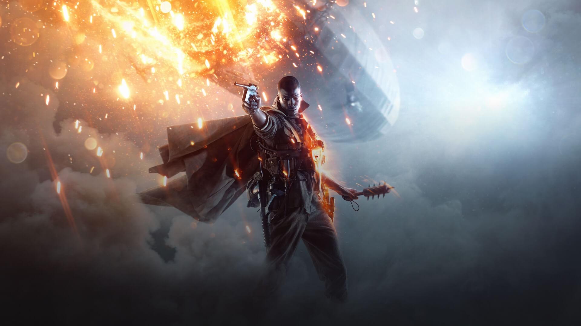 Wallpaper Battlefield gaming
