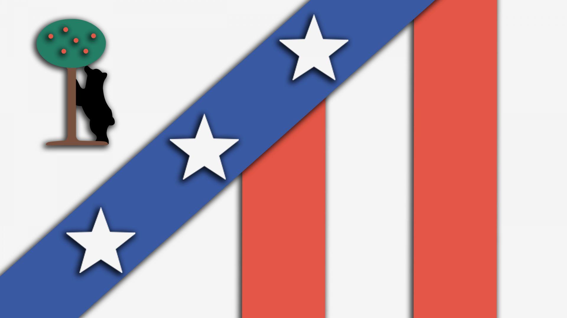 Wallpaper Soccer team, logo, material design