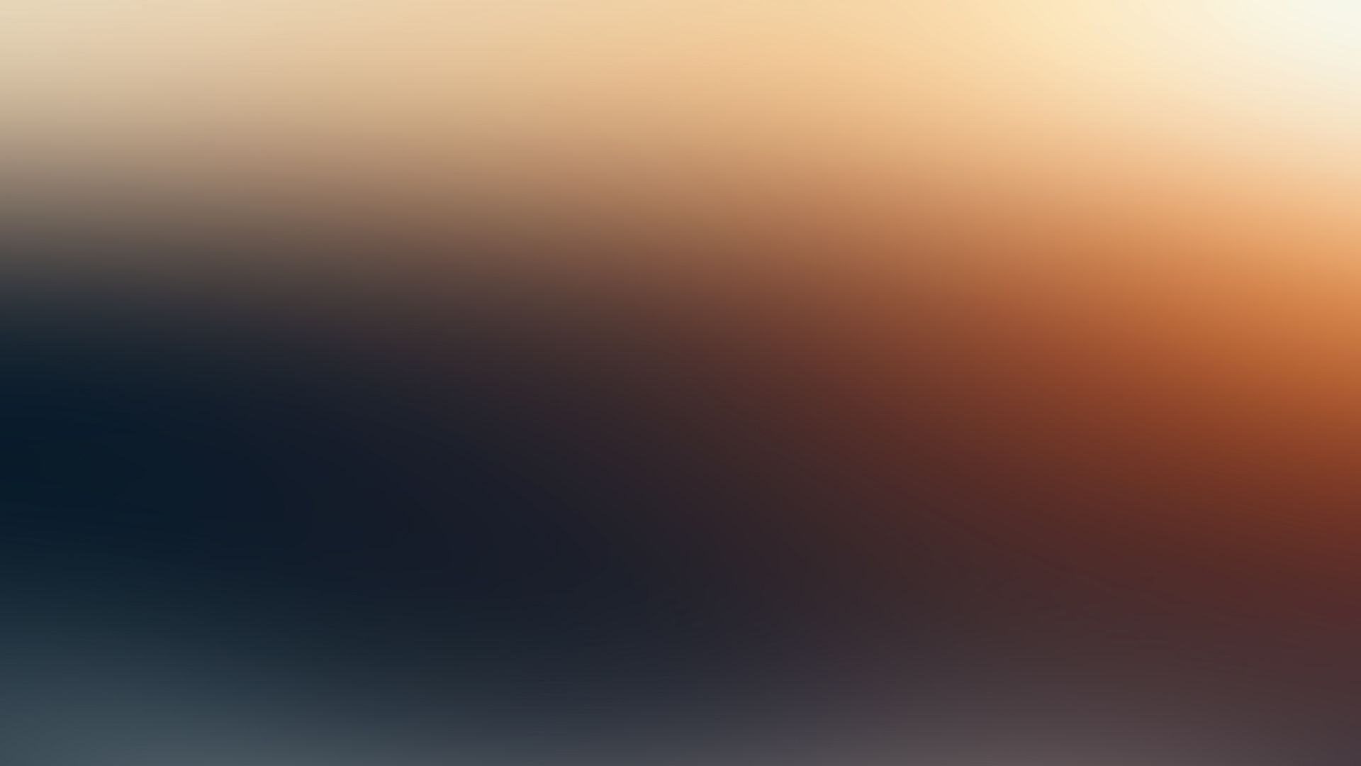 Wallpaper Abstract, blue and orange, gradient, blur