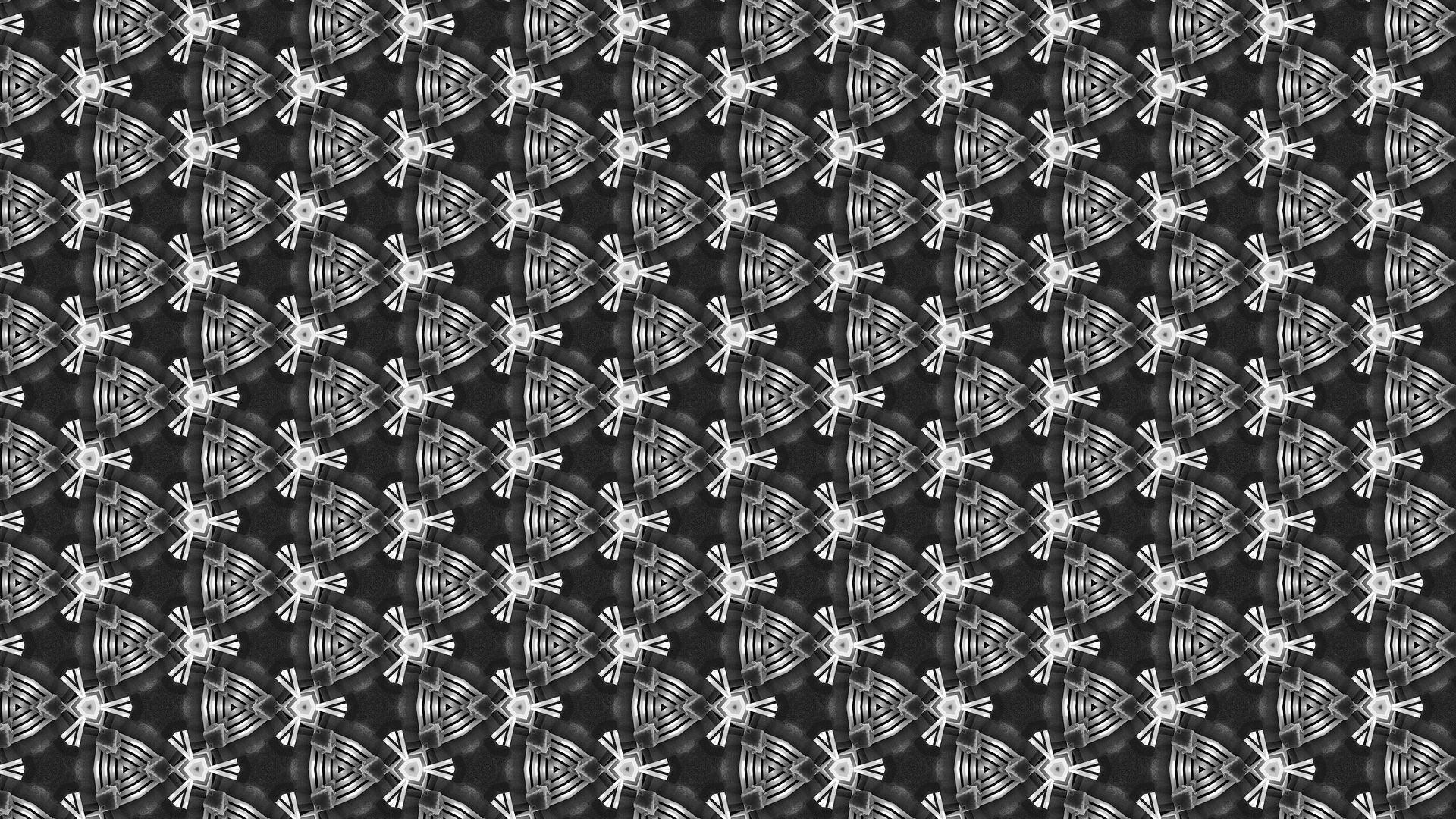 Wallpaper Triangles, monochrome, pattern, abstract