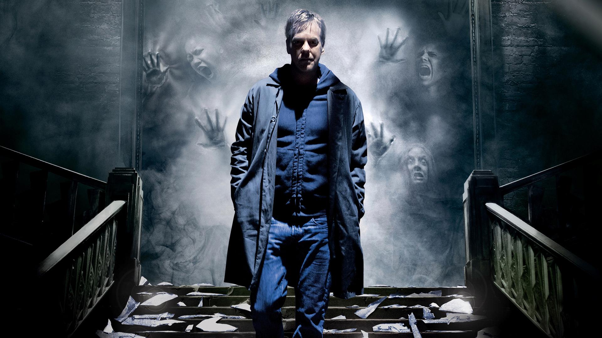 Wallpaper Mirrors, 2008 Horror movie, Kiefer Sutherland