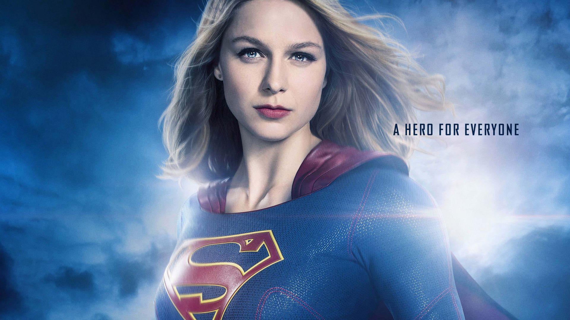 Wallpaper Supergirl tv series