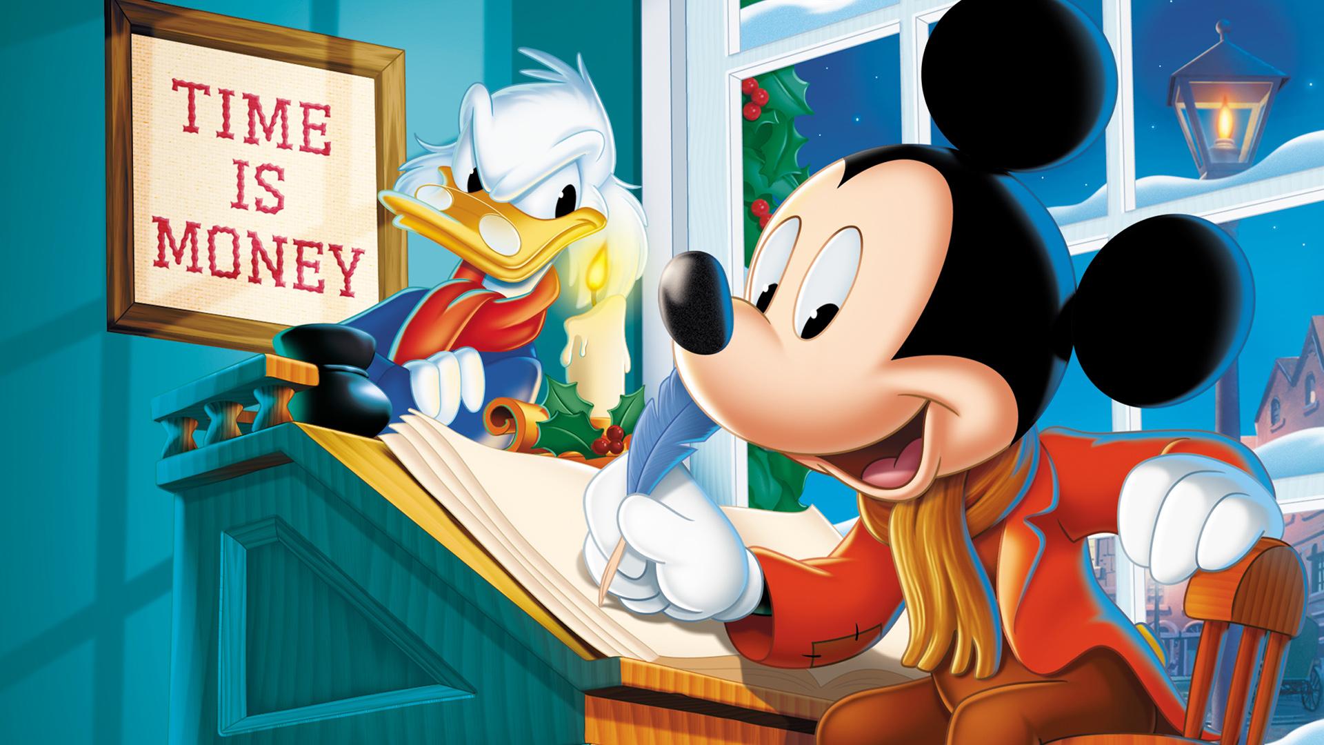 mickeys christmas carol 1983 animated movie mickey mouse donald duck wallpaper - Mickey Mouse Christmas Movie