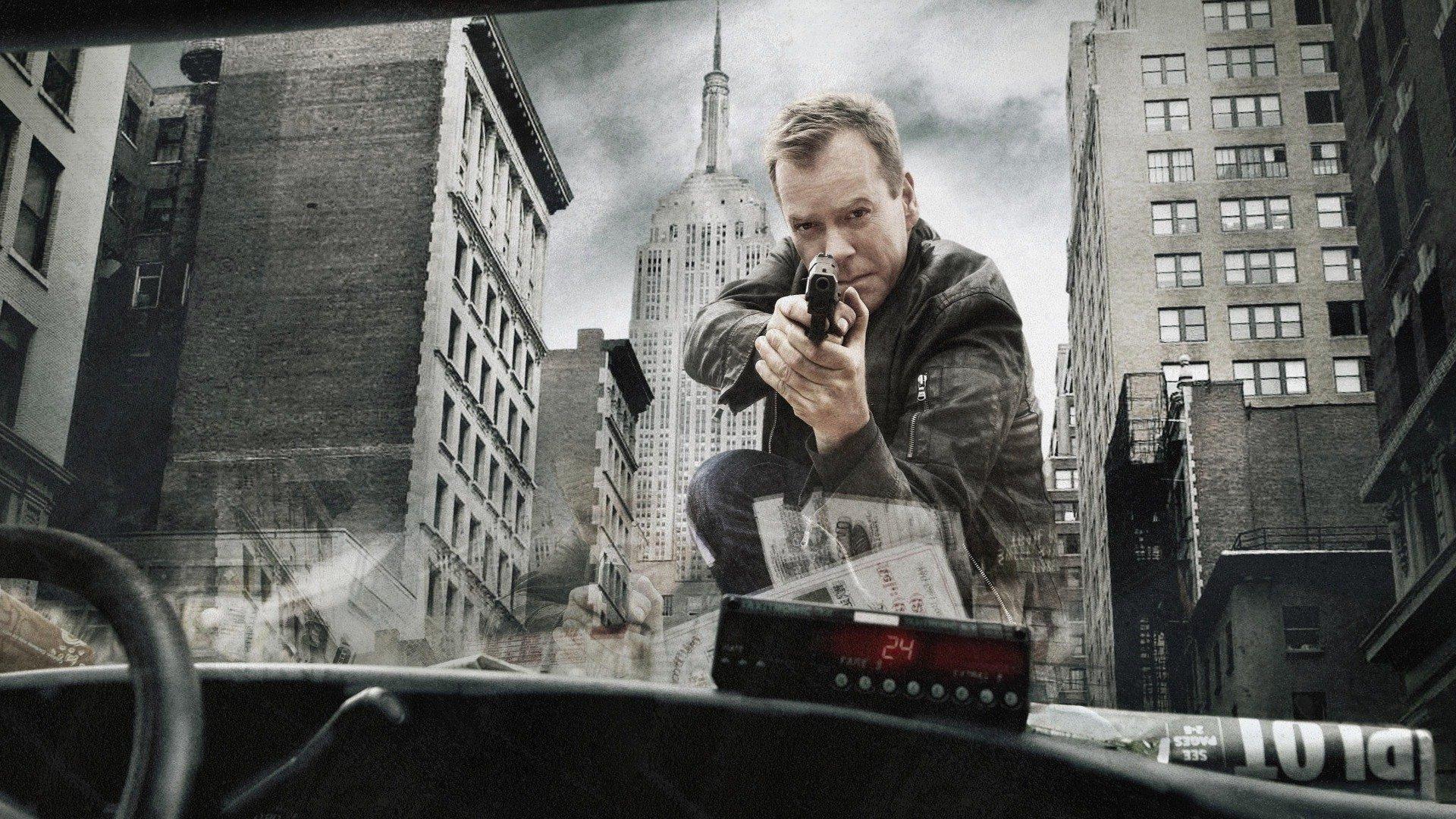 Wallpaper Kiefer Sutherland, 24 tv series