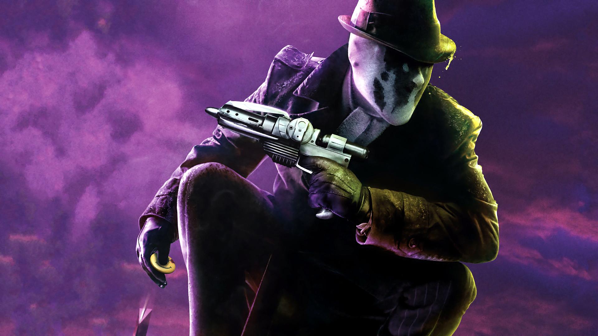 Wallpaper Rorschach, watchmen movie, 2009 movie