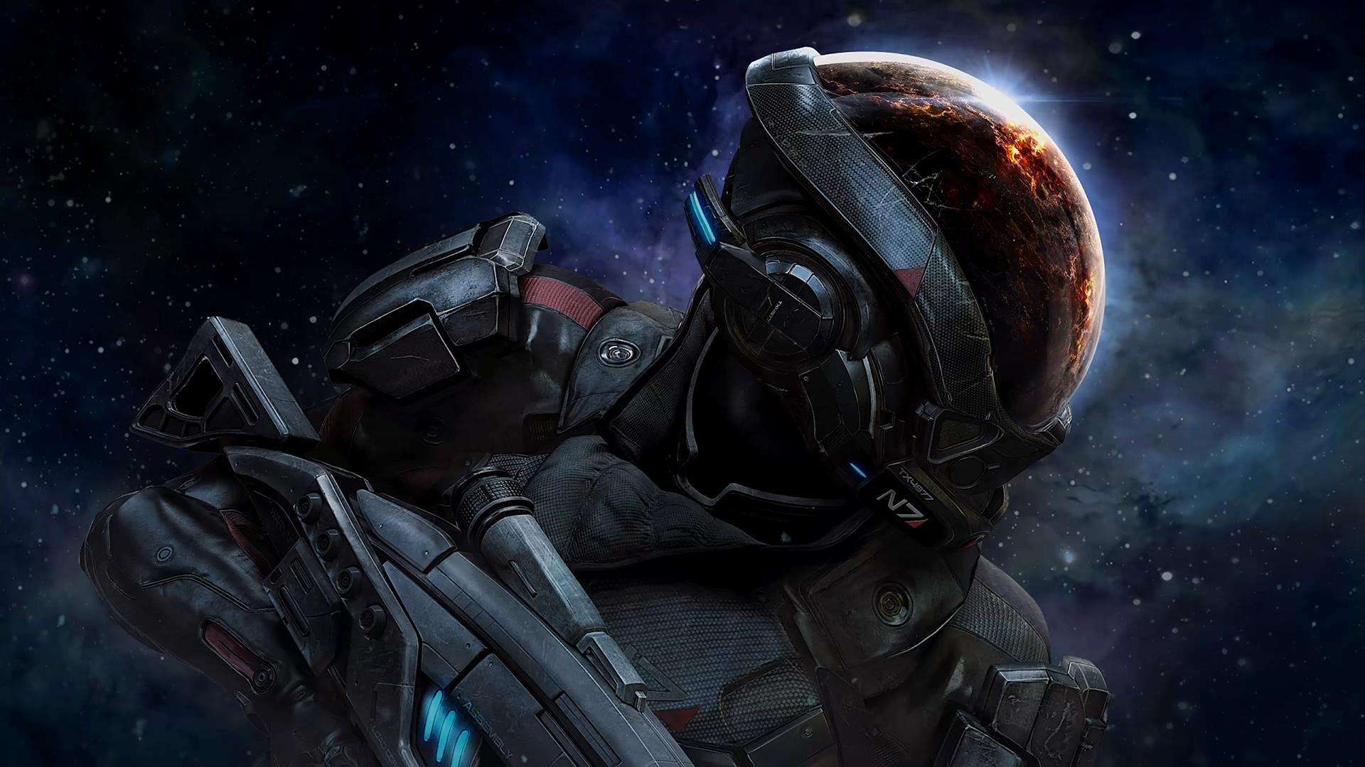 Mass Effect Andromeda Wallpaper Iphone: Desktop Wallpaper N7 Soldier Of Mass Effect: Andromeda