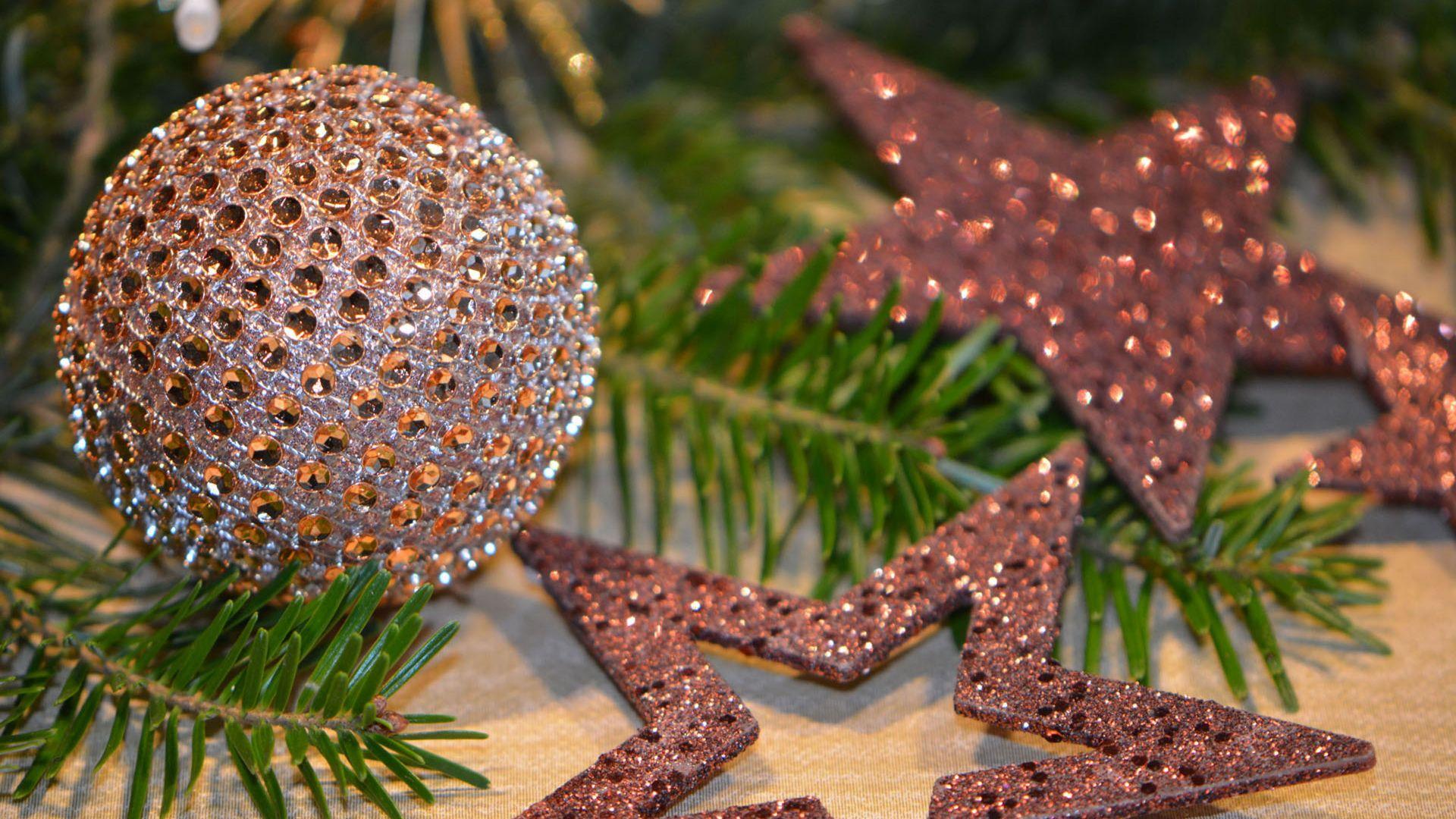 Wallpaper Christmas balls, Christmas, decorations, 2016, 4k
