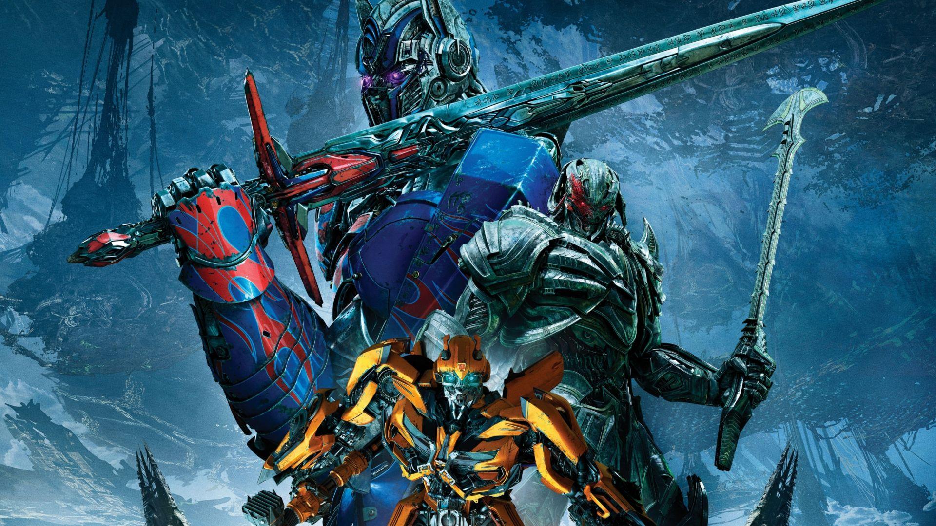 Wallpaper Bumblebee, Megatron, Optimus prime, cyborgs