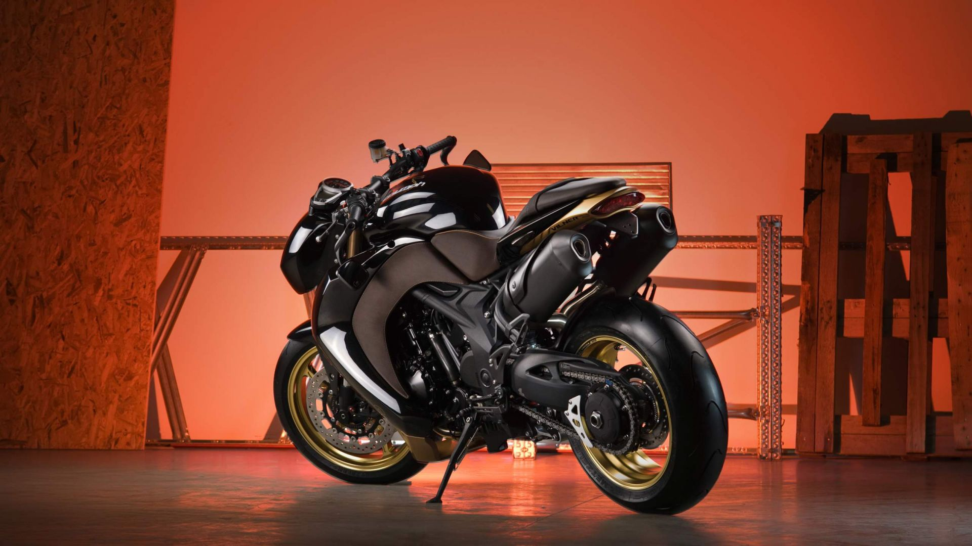 Wallpaper Speed triple motorcycle