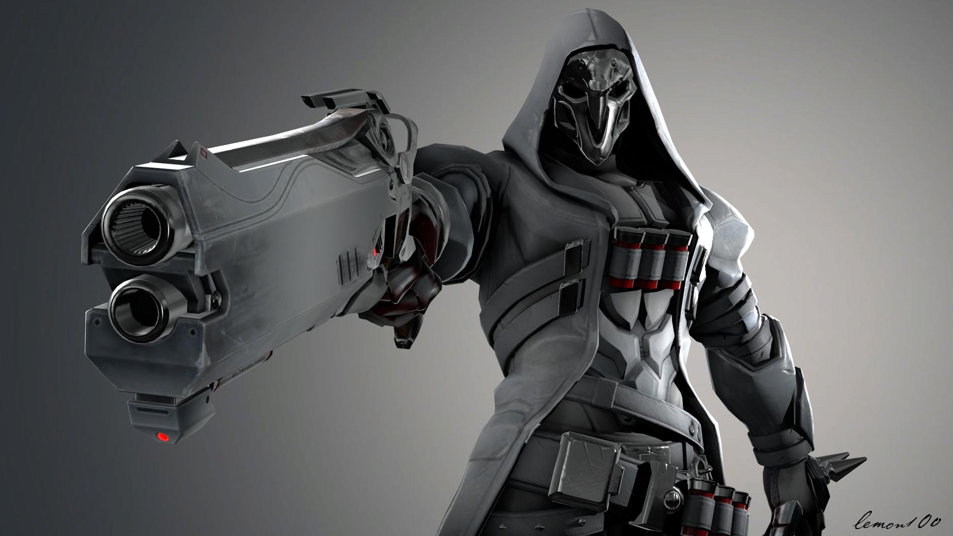 desktop wallpaper reaper overwatch hd image picture background