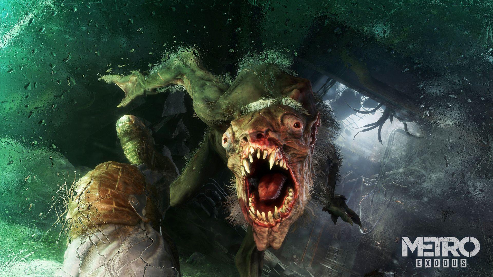Wallpaper Metro: Exodus E3, 2017 game, creature, 4k