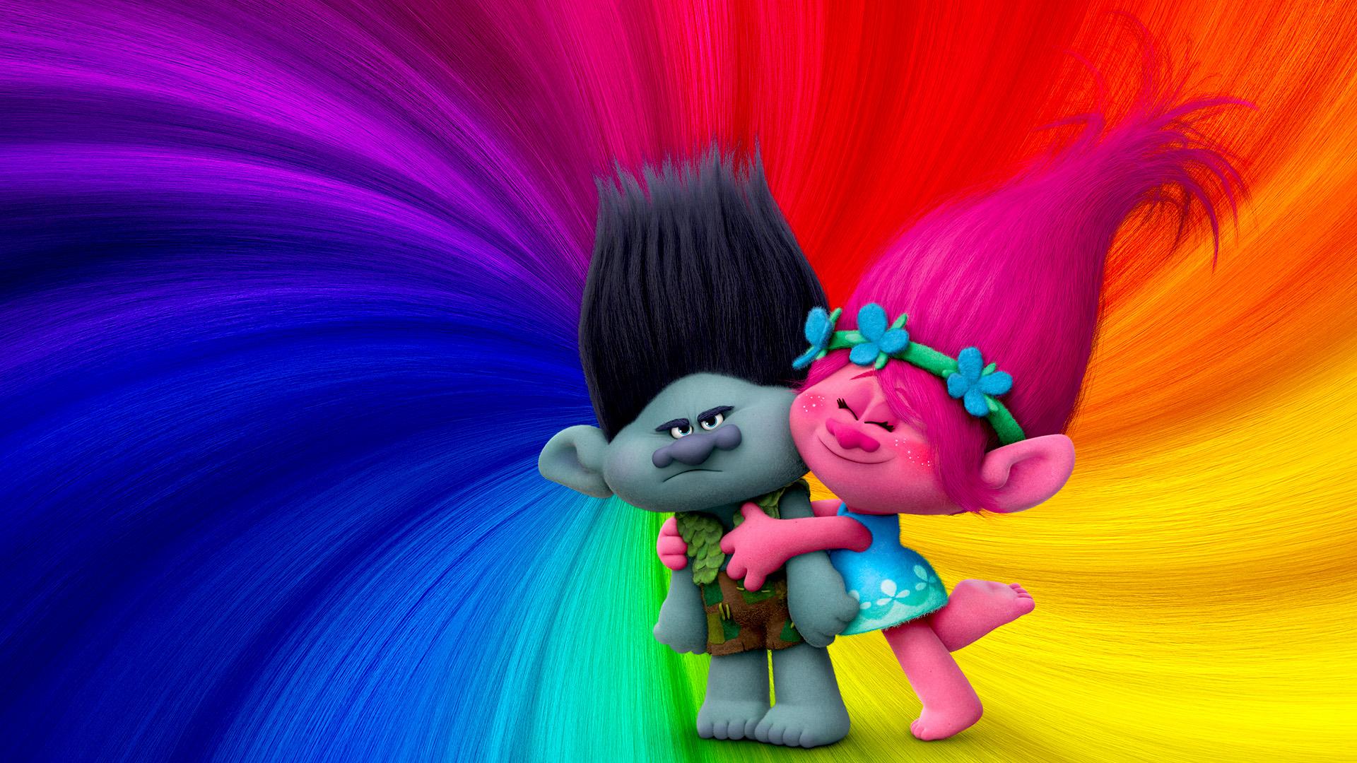 Wallpaper Trolls animation movie, 2016 movie, colorful