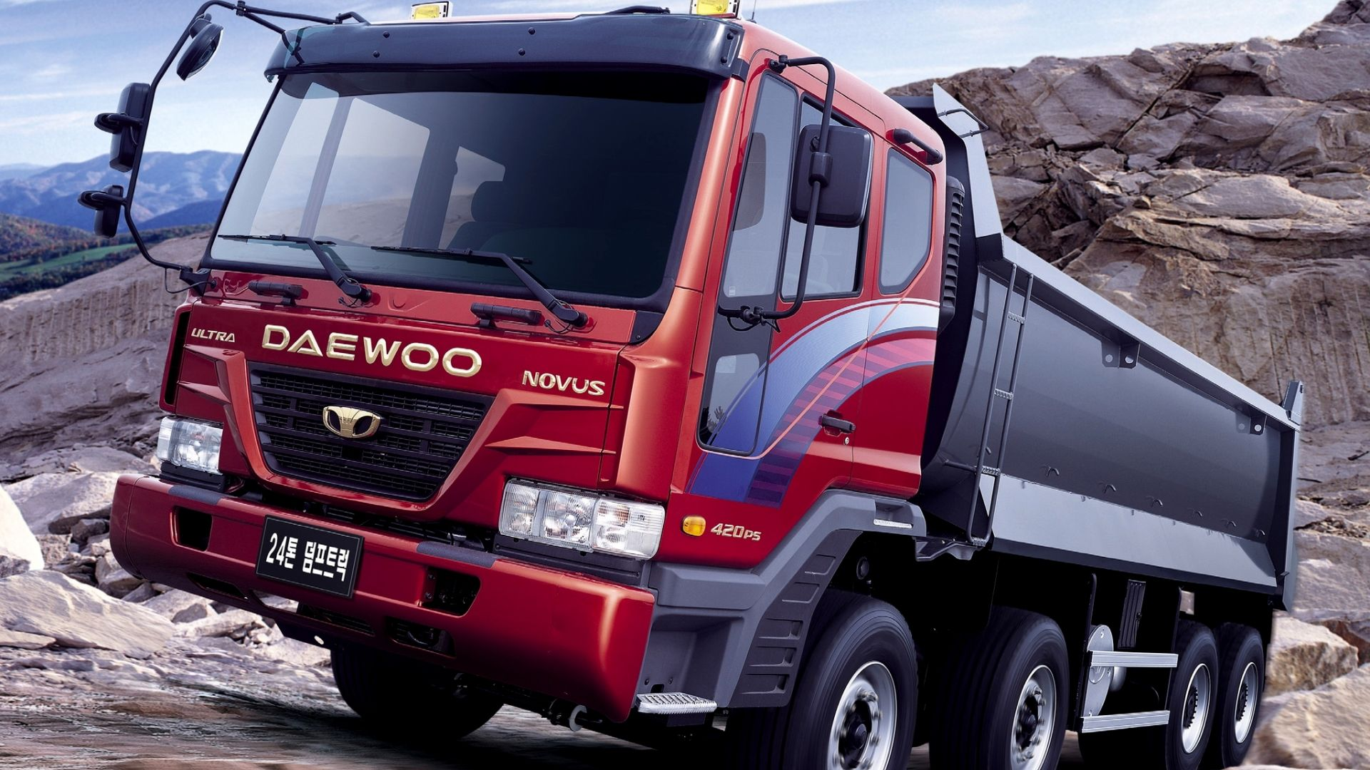 Wallpaper Daewoo truck