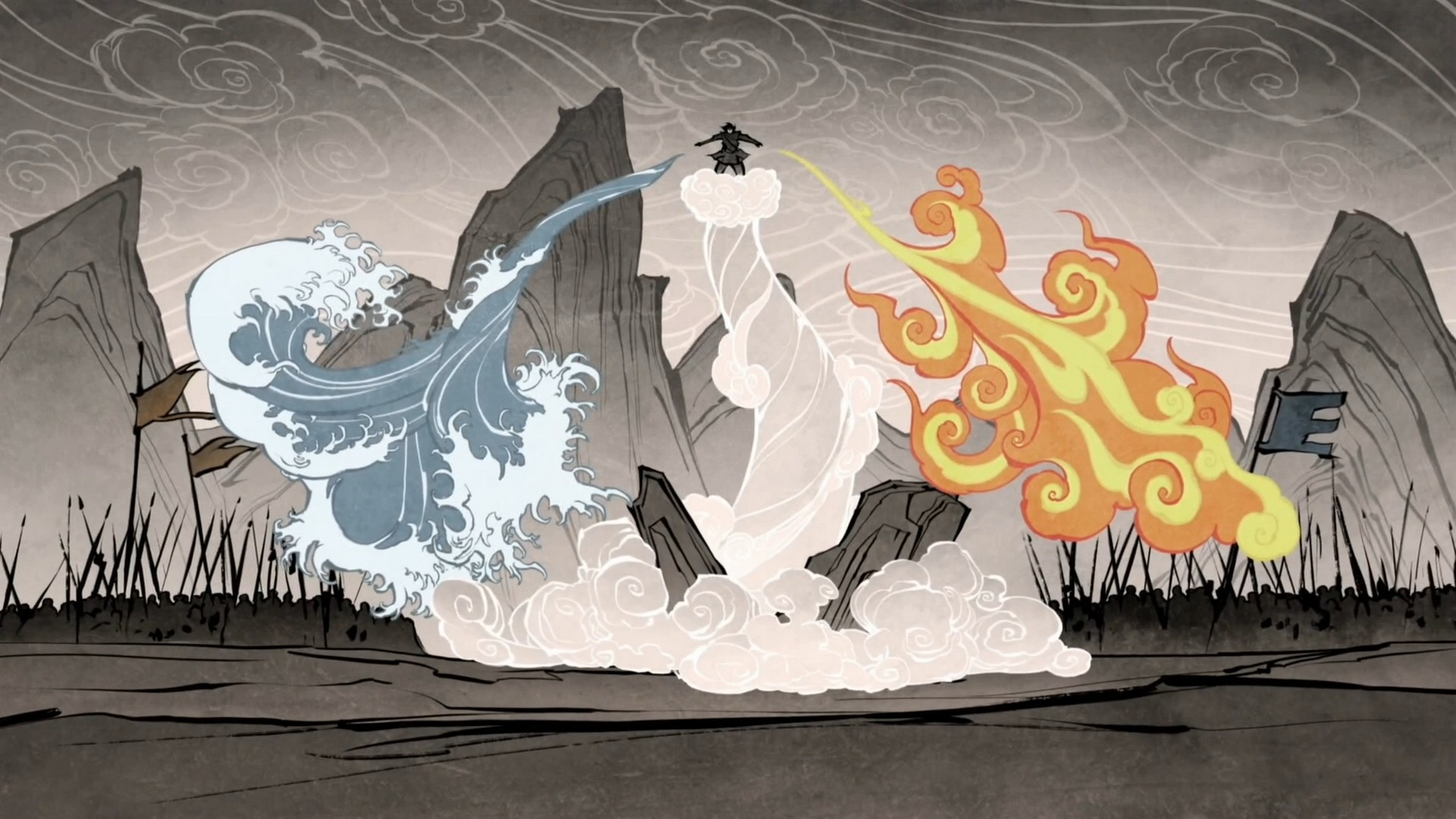 Wallpaper Avatar: the last Airbender cartoon series