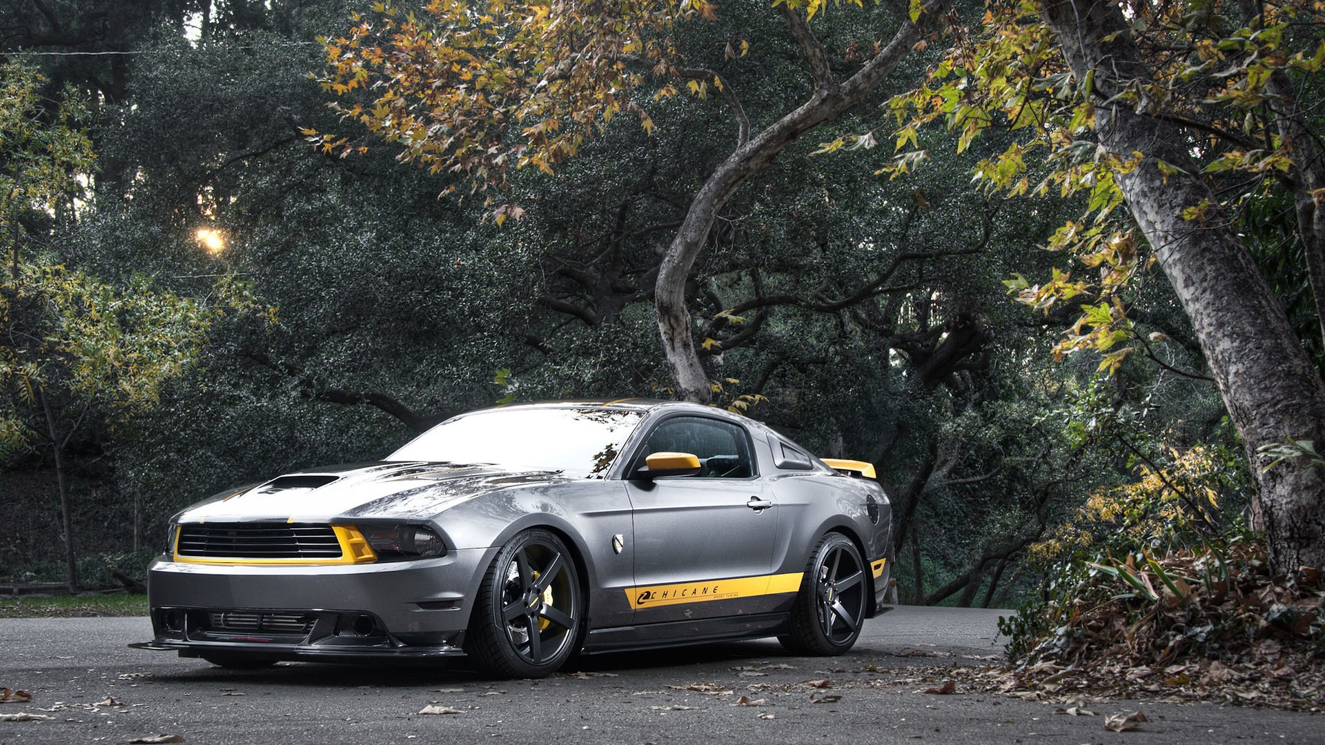 Wallpaper Ford Mustang GT car