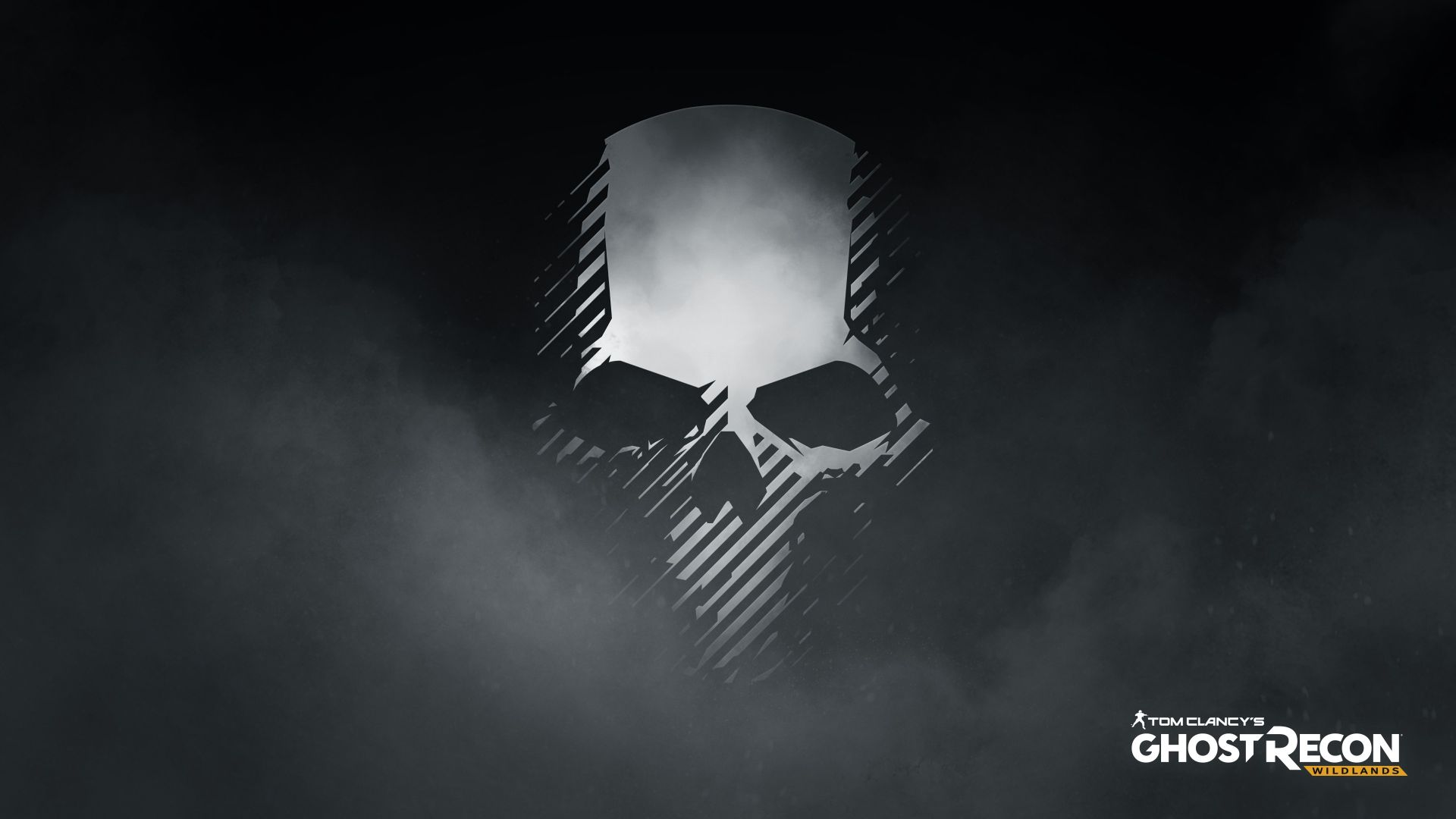 Wallpaper Tom Clancy's Ghost Recon: Wildlands video game, 2017 game, skull