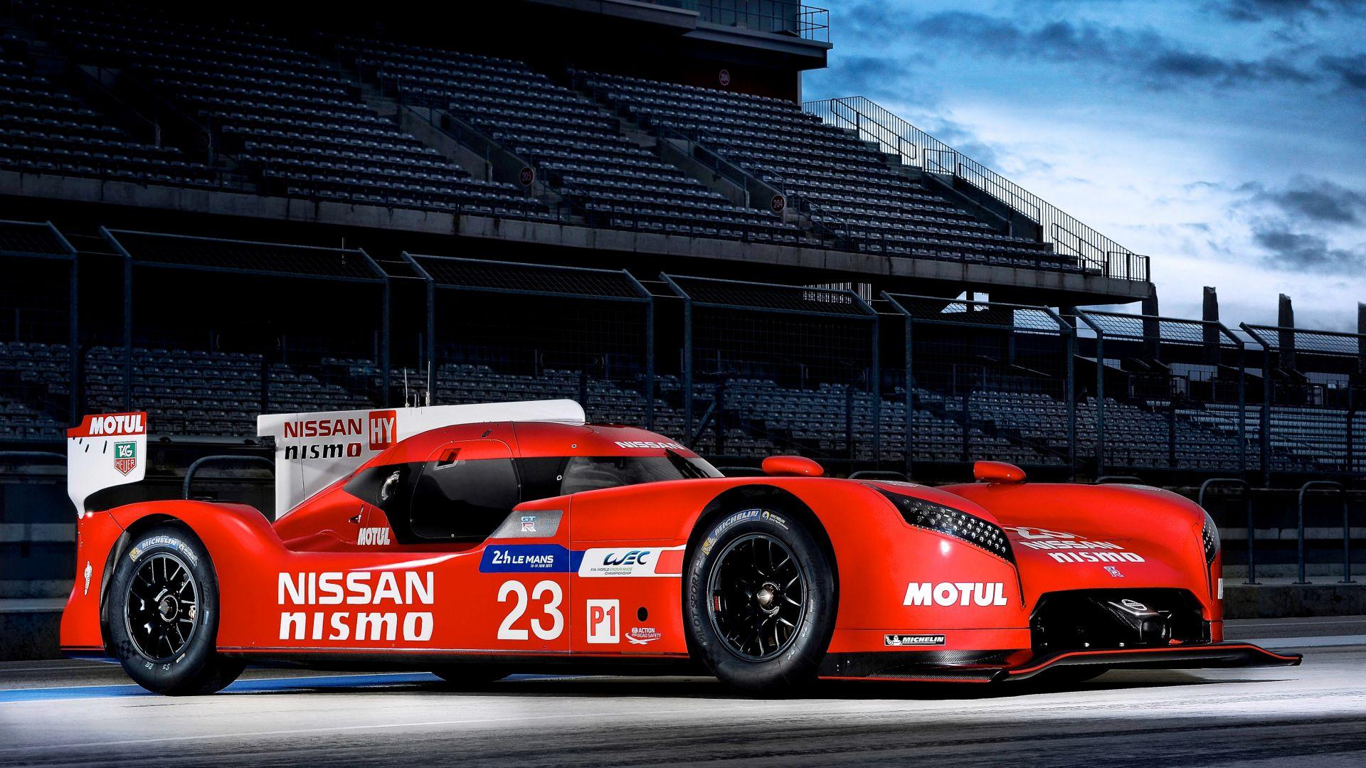 Wallpaper Nissan GT-R LM Nismo Car